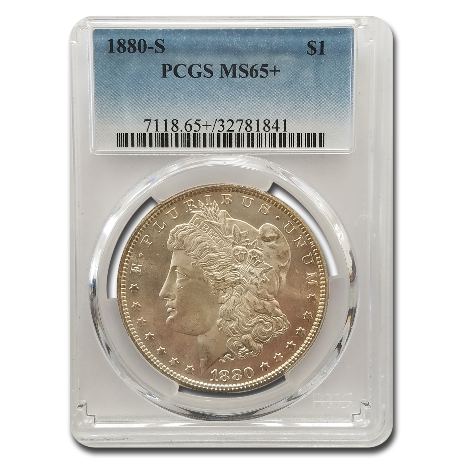 1880-S Morgan Dollar MS-65+ PCGS