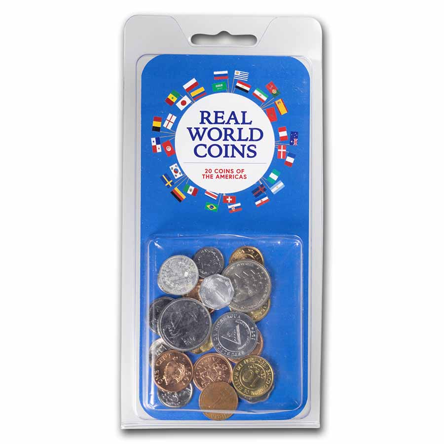 Mixed World Set 20-Coins of the Americas