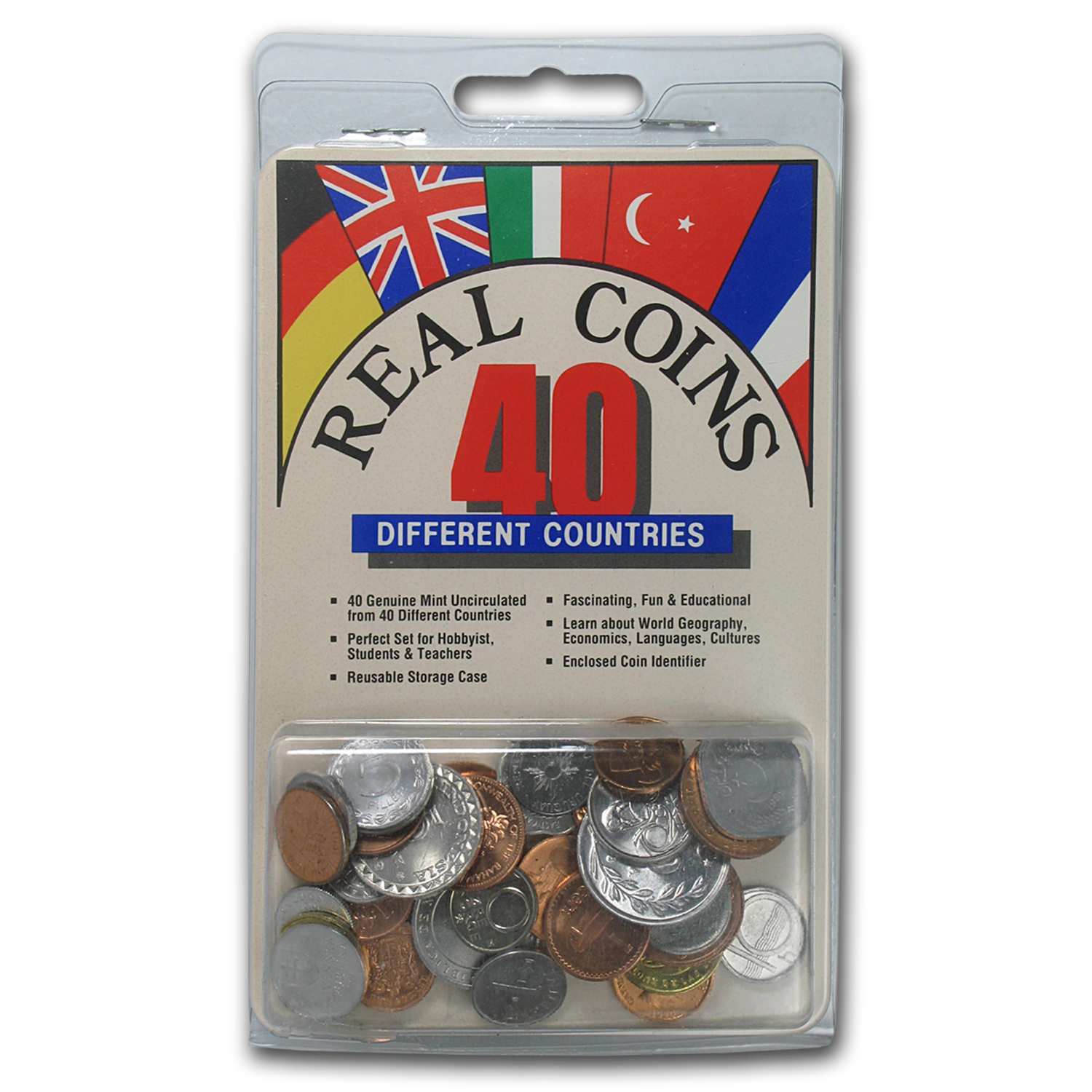 World Set 40-Coins of 40 Countries