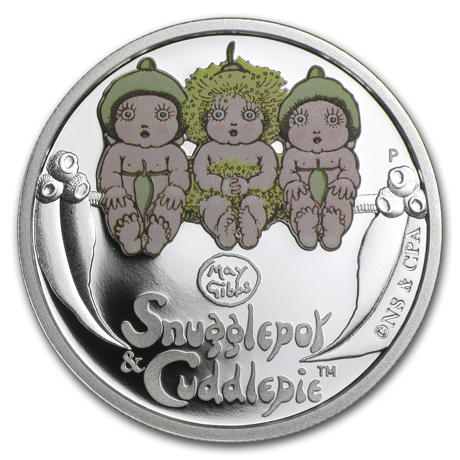 2015 Australia 1/2 oz Silver Snugglepot and Cuddlepie Proof