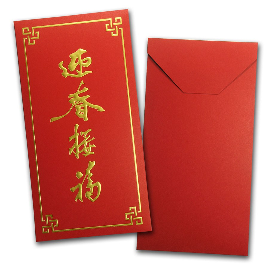 A red envelope (紅包, hóngbāo) is simply a long, narrow, red playsvaluable.mlional red envelopes are often decorated with gold Chinese characters like happiness and wealth. Variations include red envelopes with cartoon characters depicted and red envelopes from stores and companies that contain coupons and gift certificates inside.