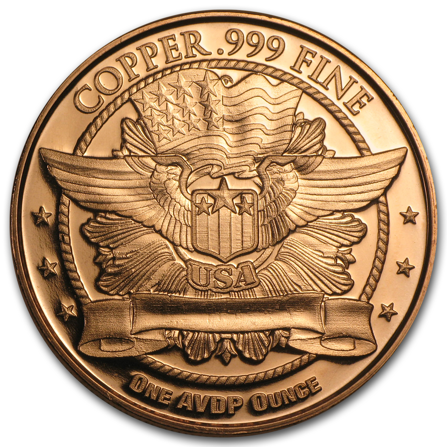 1 oz Copper Round - Liberty Head