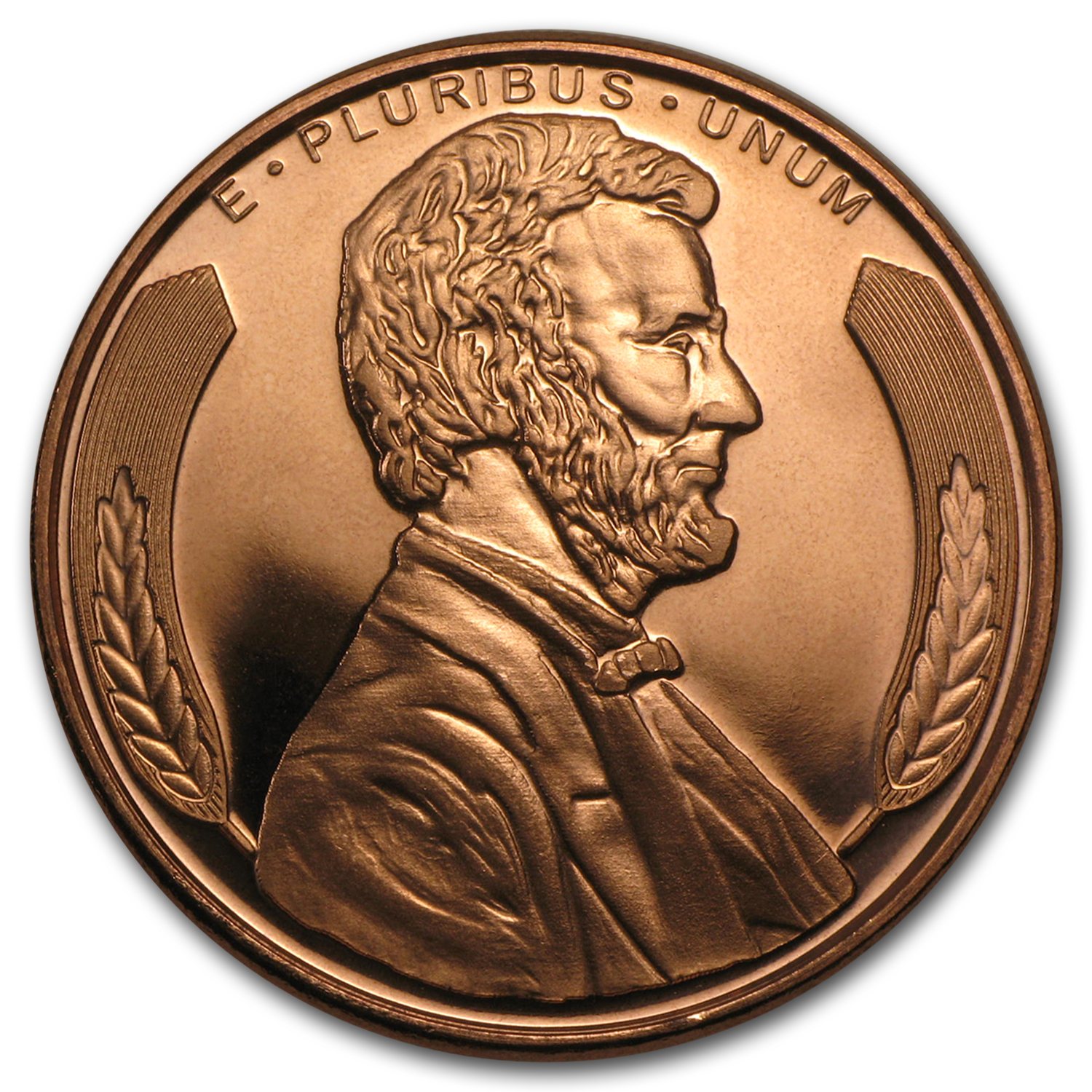 1 oz Copper Round - Lincoln Bust