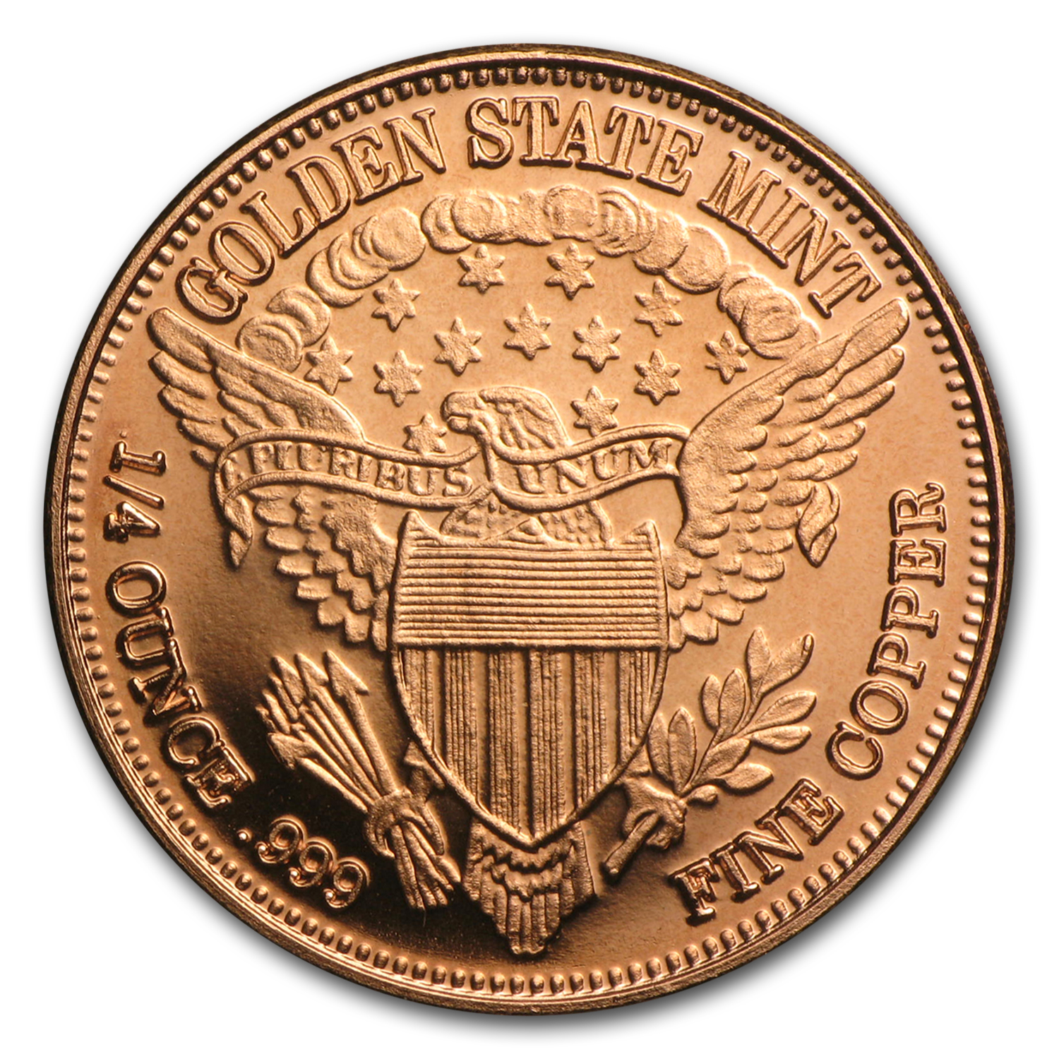 1/4 oz Copper Round - Standing Liberty (20 count tube)