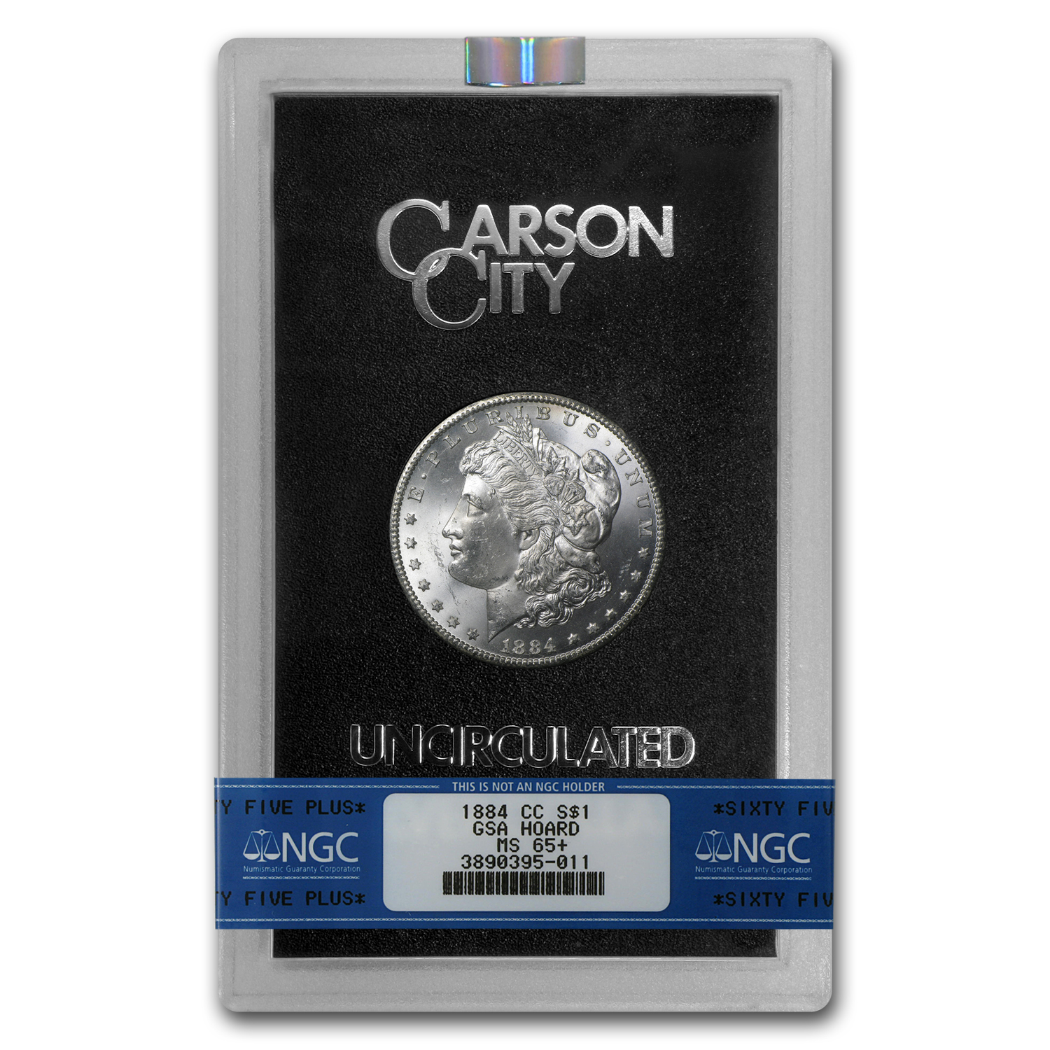 1884-CC Morgan Dollar MS-65+ NGC (GSA Certified)