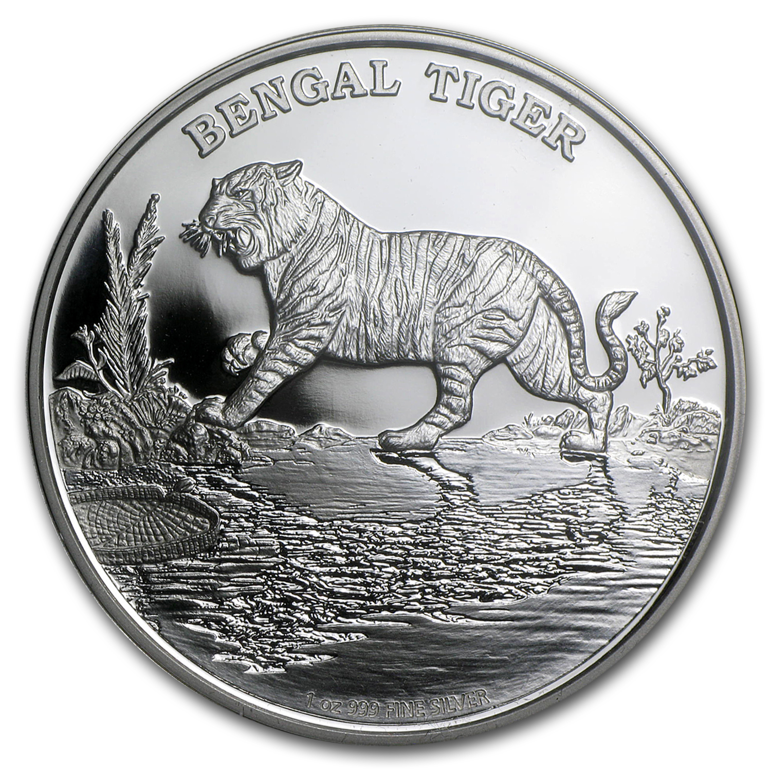 2015 Niue 1 oz Silver Bengal Tiger Proof