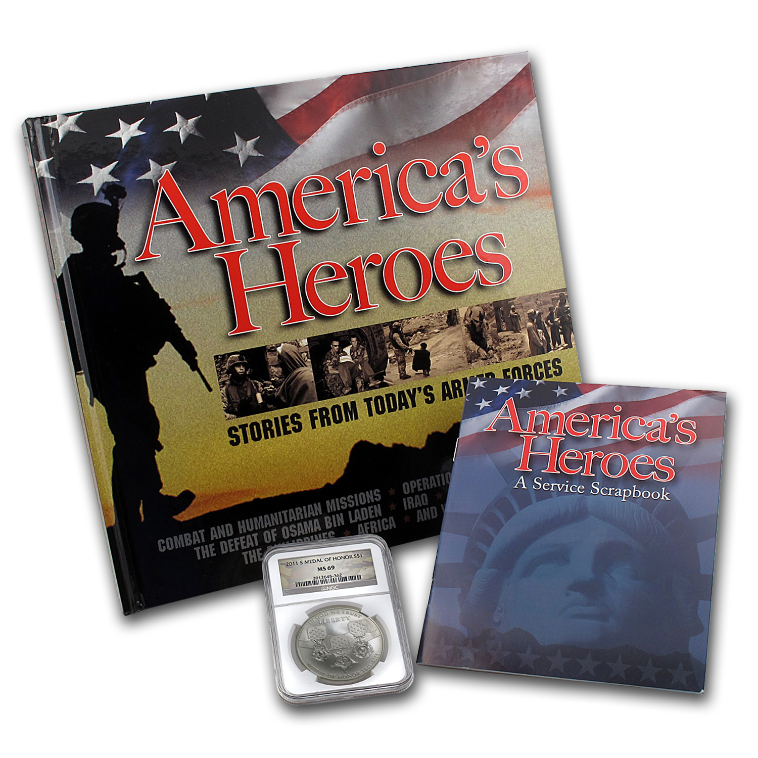 2011-S Medal of Honor America's Heroes MS-69 NGC
