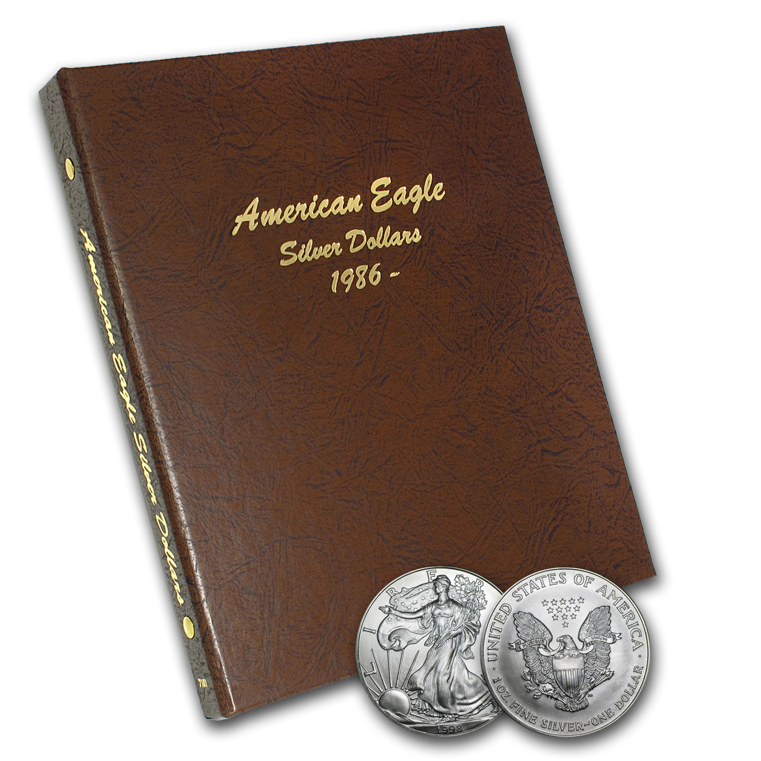 1986-2016 31-Coin Silver American Eagle Set BU (Dansco Album)