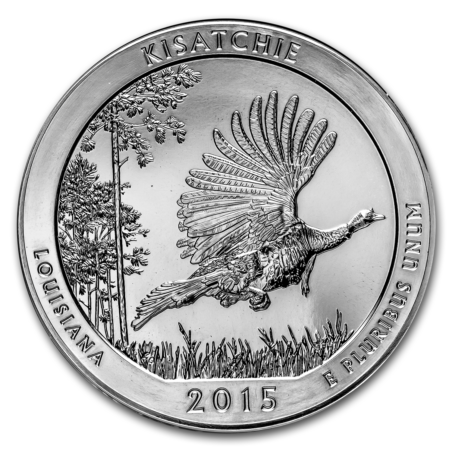 2015 5 oz Silver ATB Kisatchie National Forest, LA