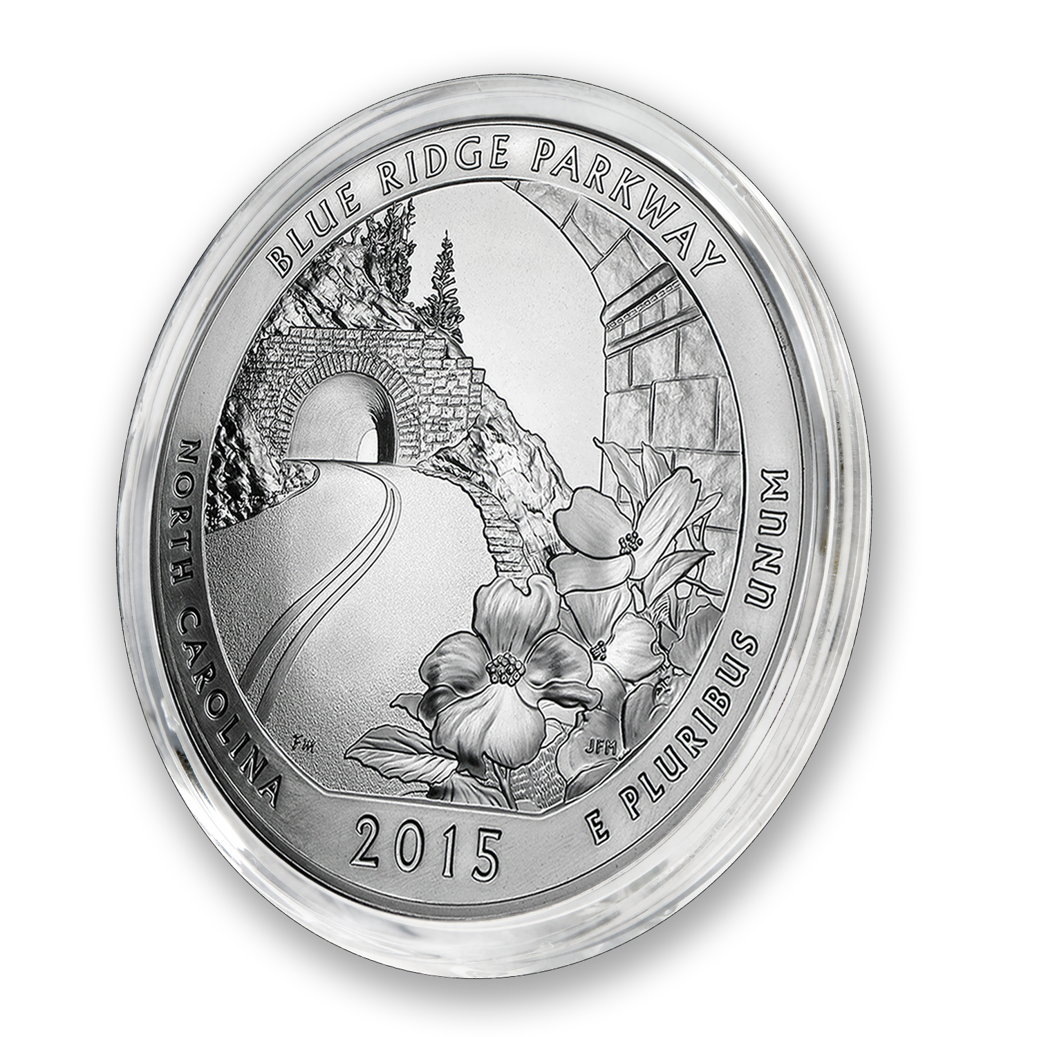 2015 5 oz Silver ATB Blue Ridge National Parkway, NC
