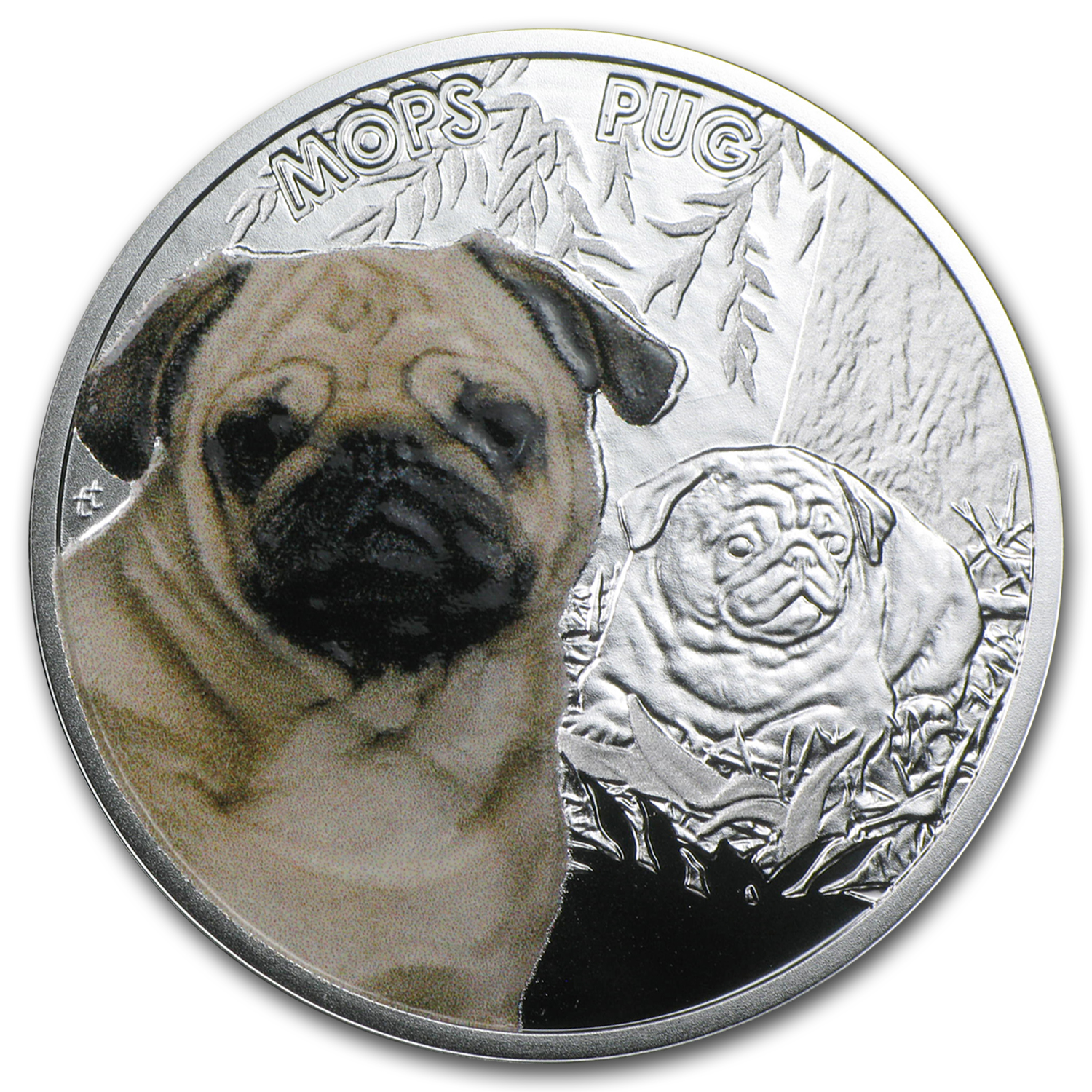 2015 Niue Silver Man's Best Friends Dogs (Pug)