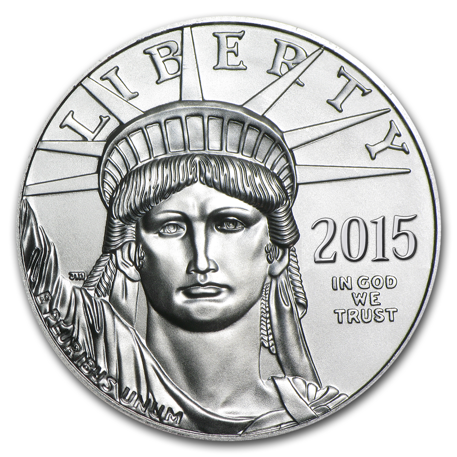 2015 1 oz Platinum American Eagle BU