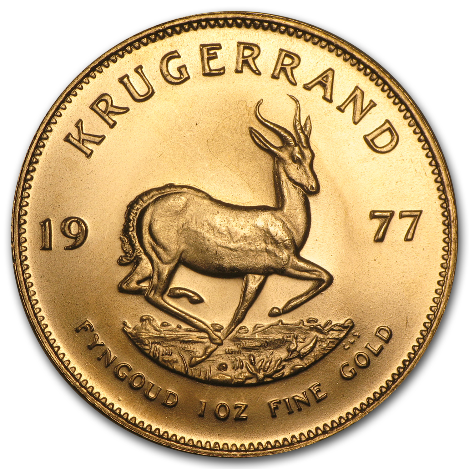 1977 South Africa 1 oz Gold Krugerrand