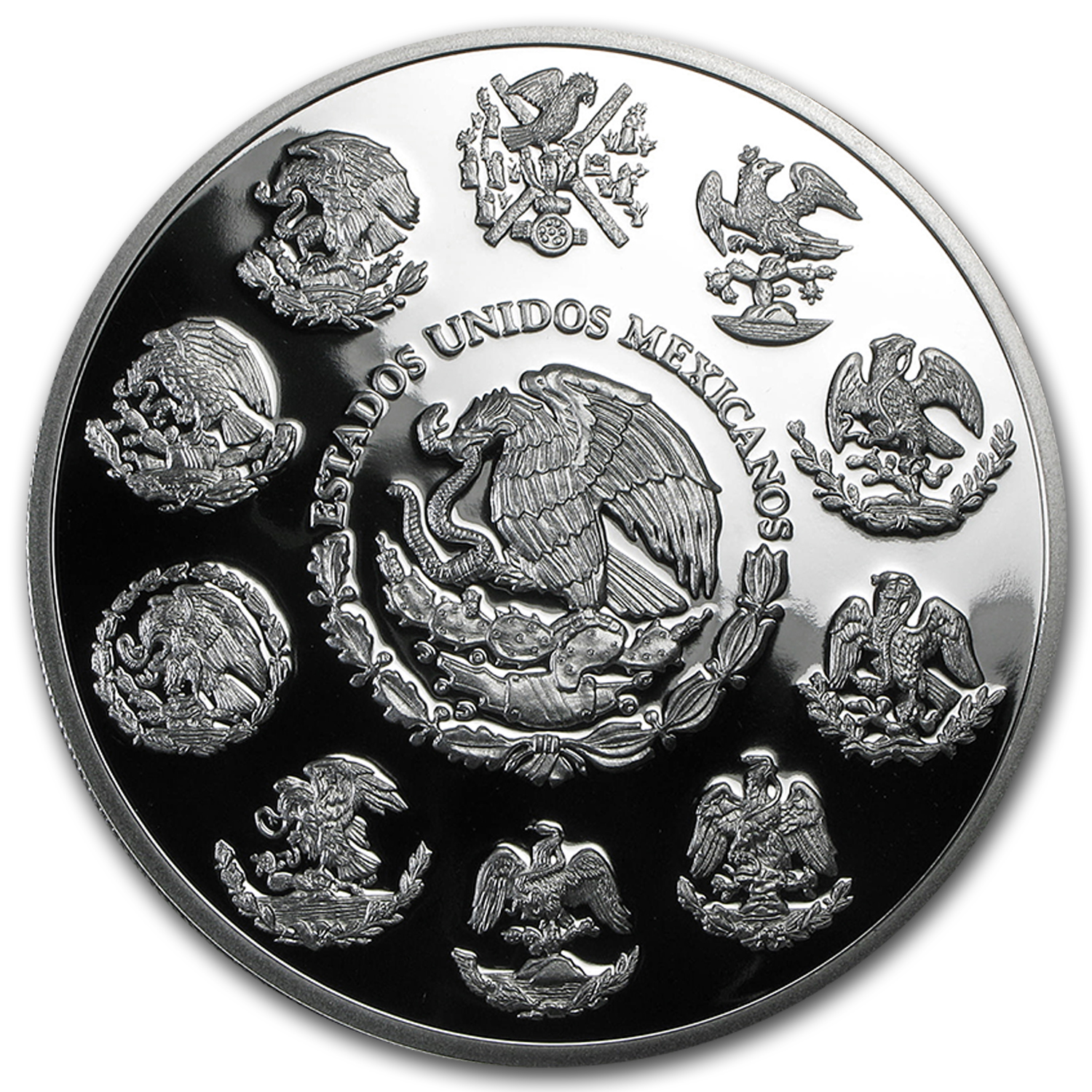 2015 Mexico 5 oz Silver Libertad Proof (In Capsule)