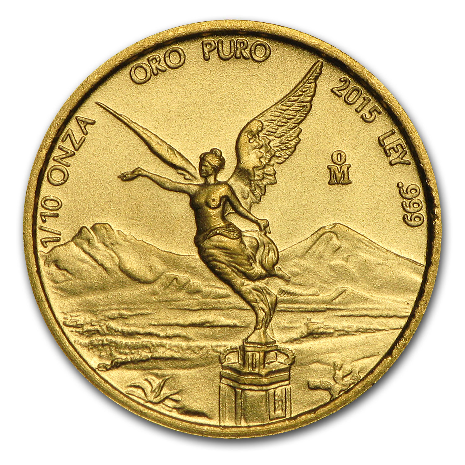 2015 Mexico 1/10 oz Gold Libertad BU (4/1)