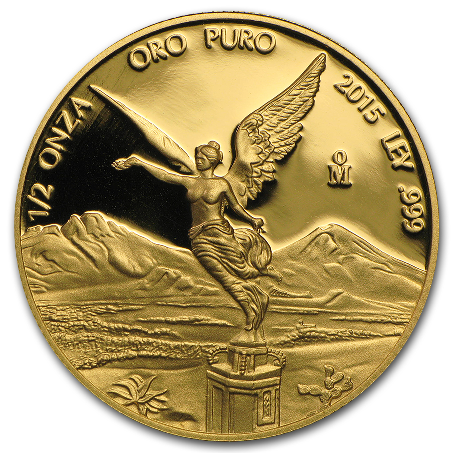 2015 Mexico 1/2 oz Proof Gold Libertad