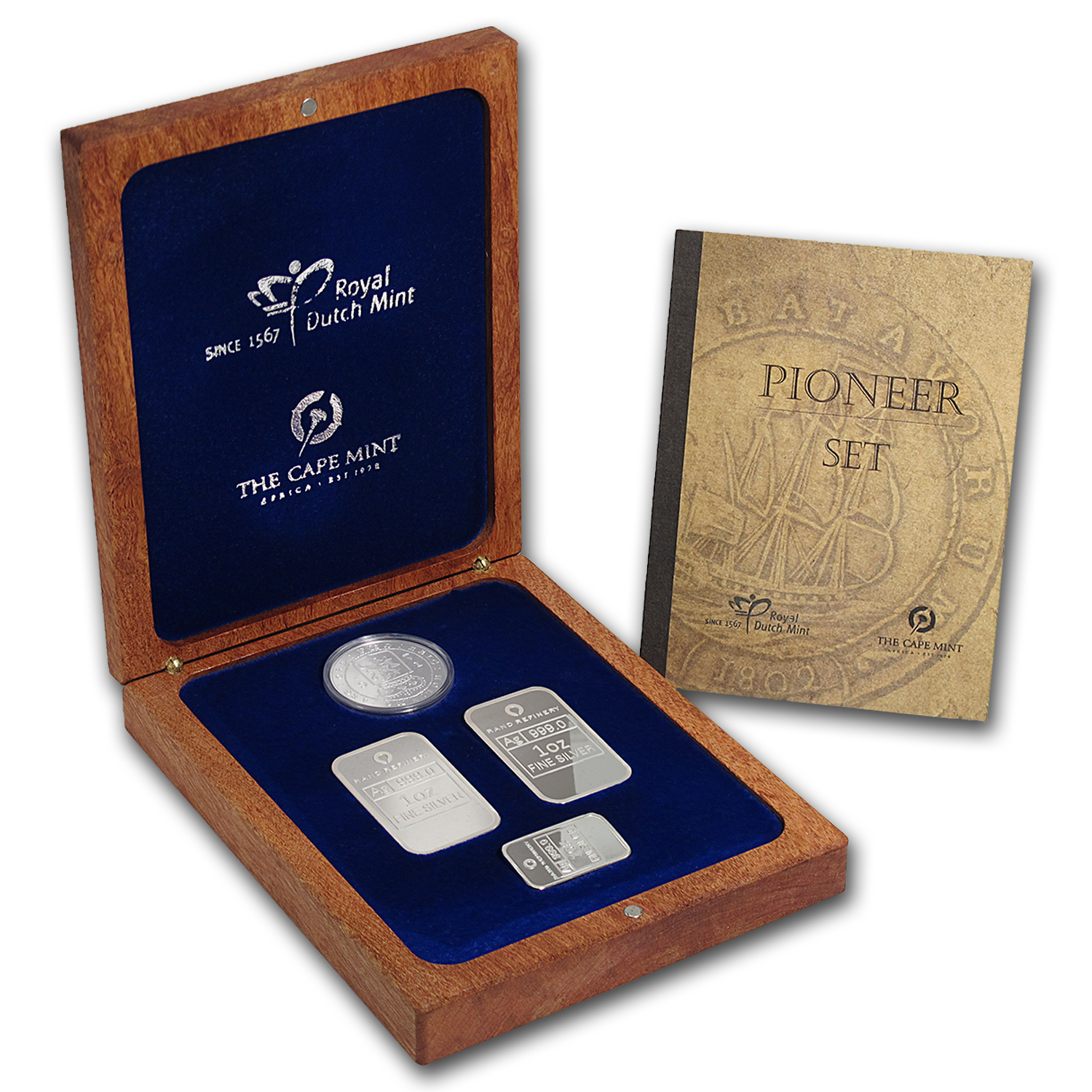 VOC Pioneer Silver Proof Set