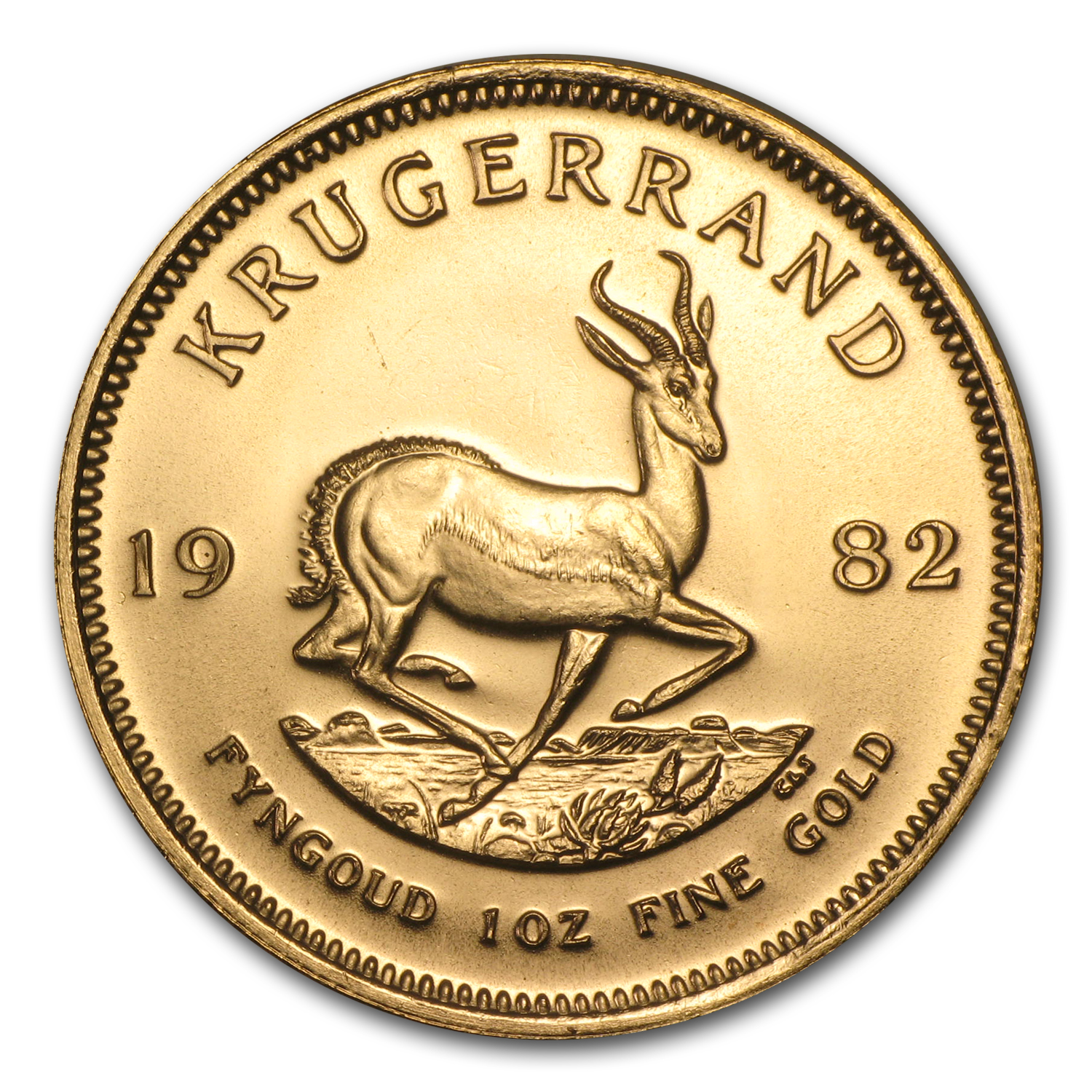 1982 South Africa 1 oz Gold Krugerrand