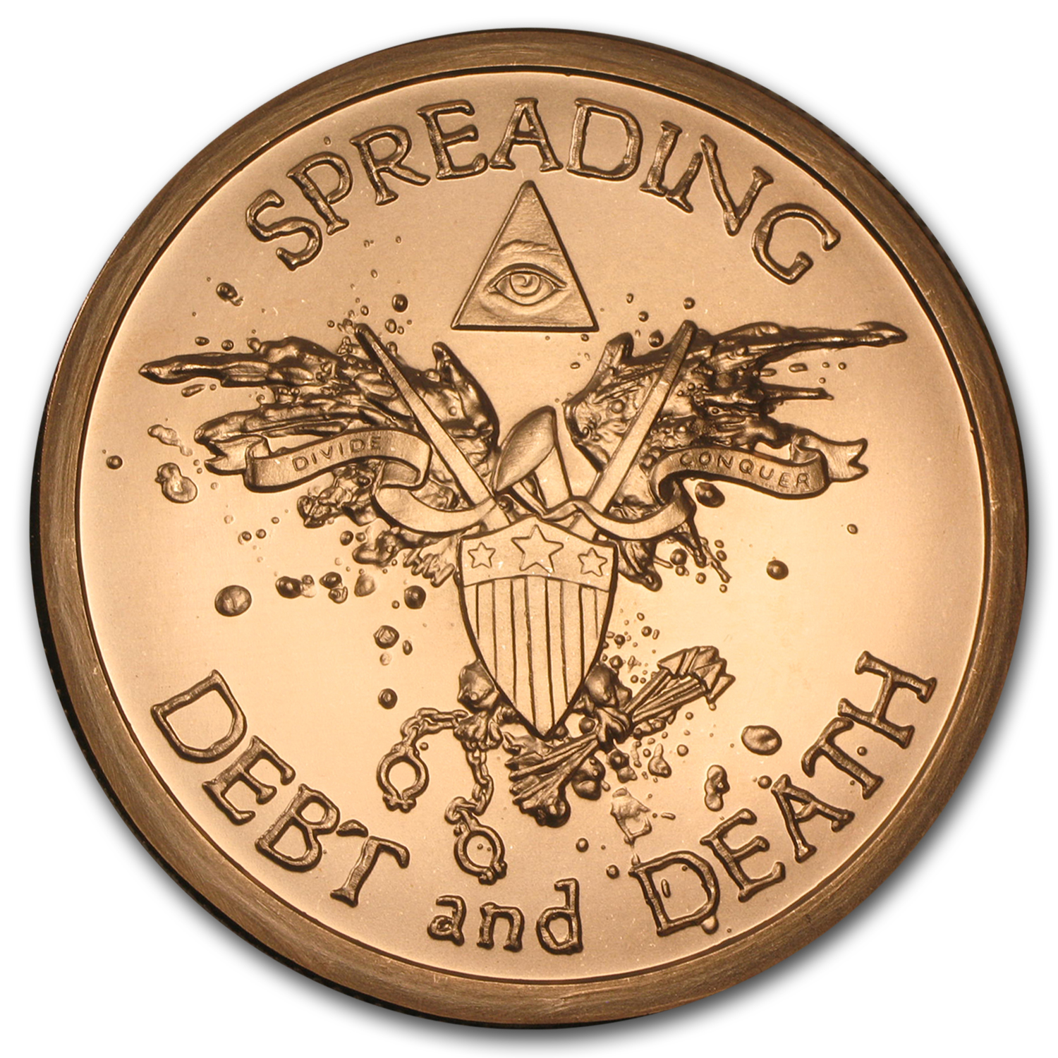 2015 5 oz Copper Round - Warbird
