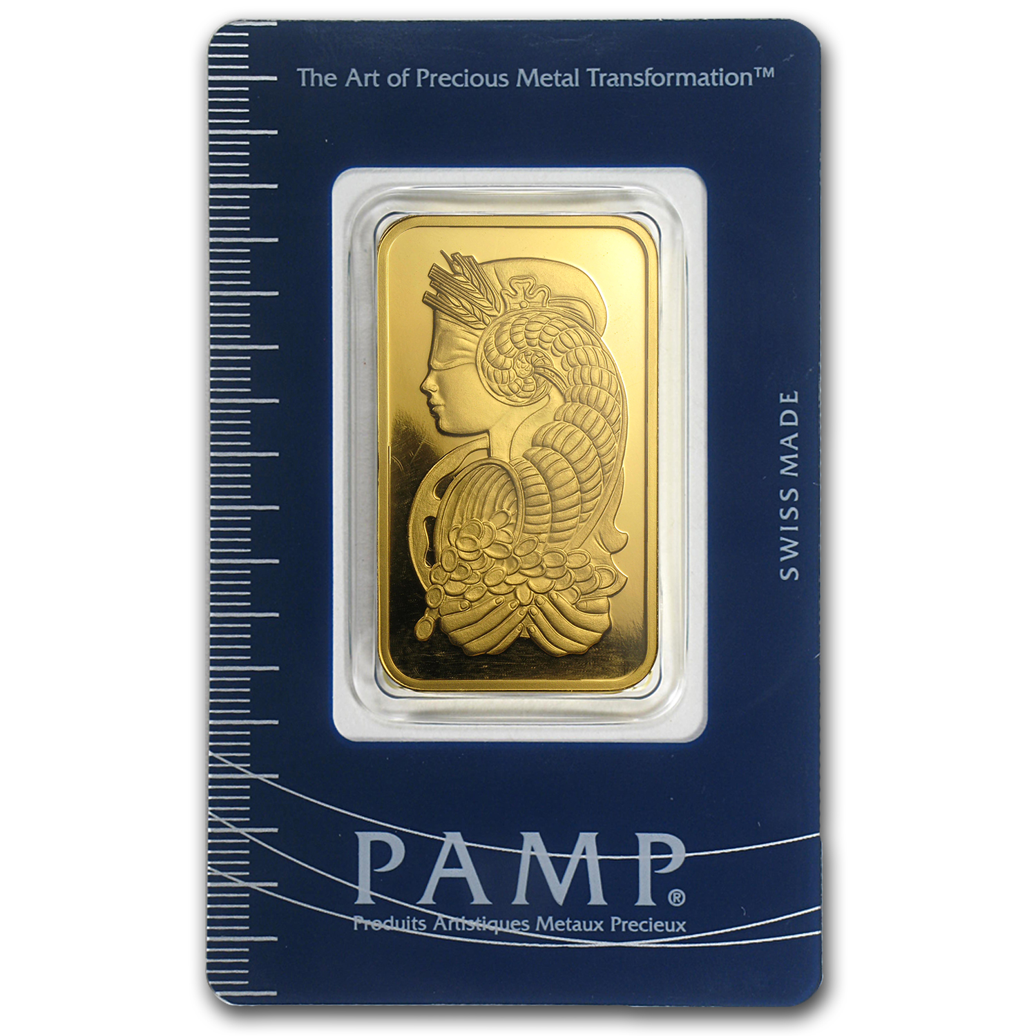 3 Tolas Gold Bar - Pamp Suisse Fortuna (In Assay)