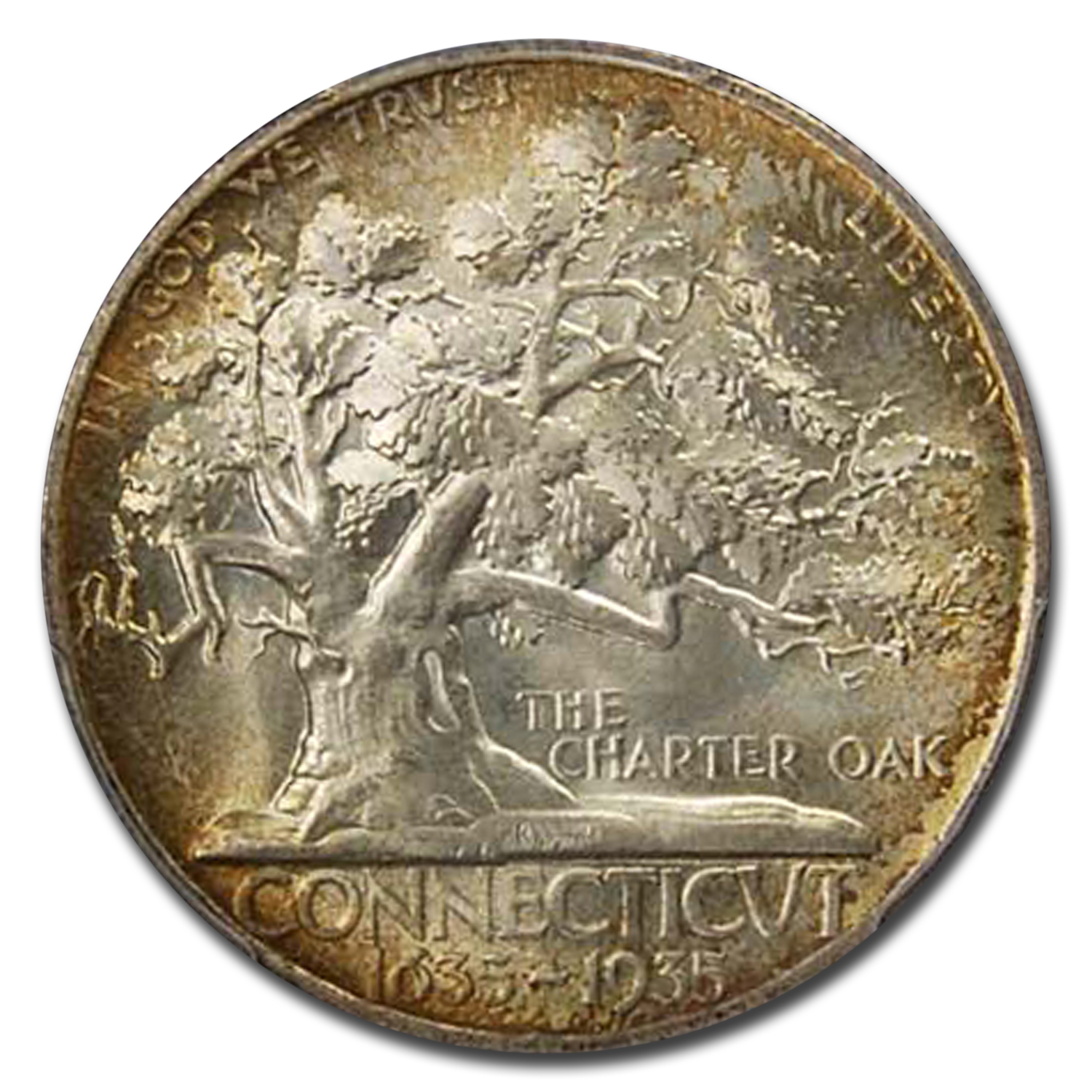 1935 Connecticut Half Dollar MS-66 PCGS