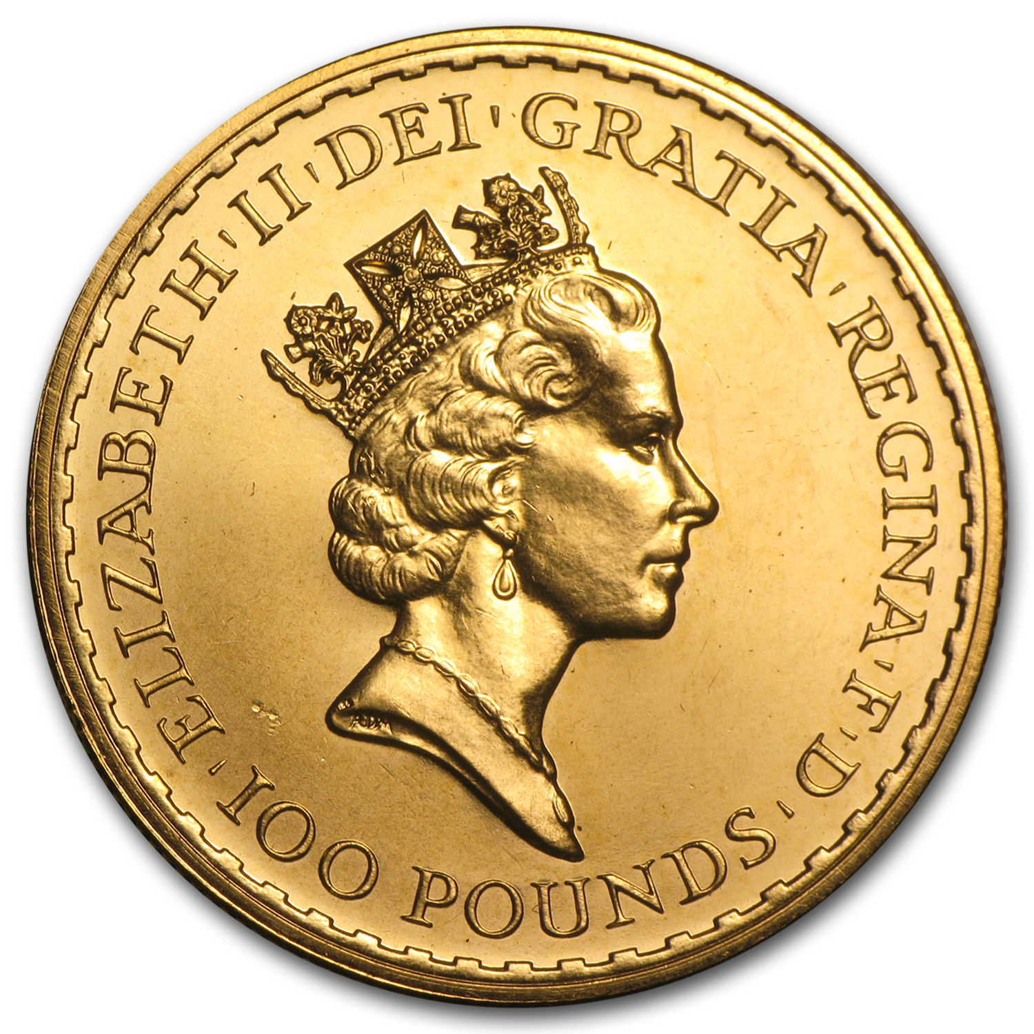 1990 Great Britain 1 oz Gold Britannia BU