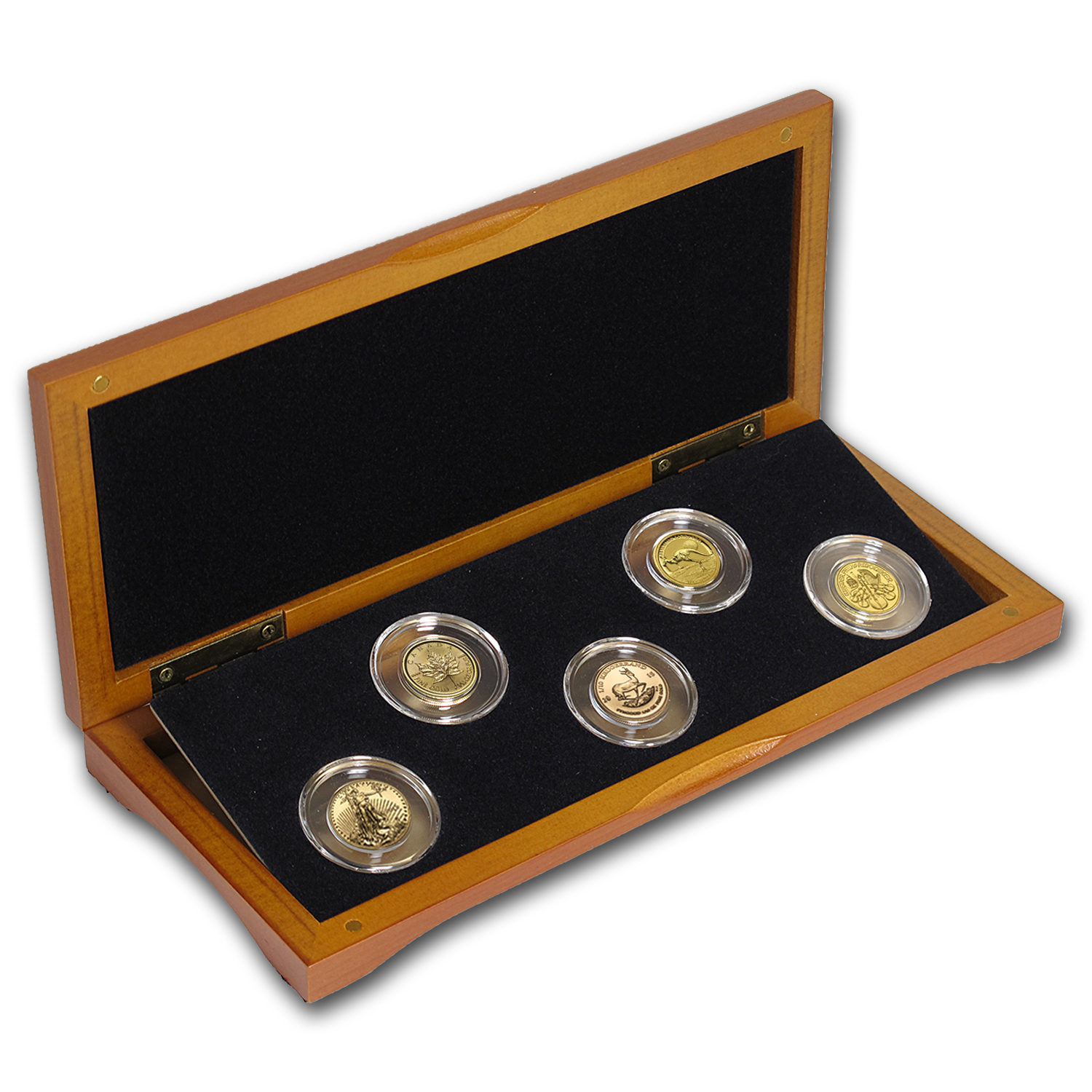 2015 5-Coin 1/10 oz Gold Sample Set for New Investors