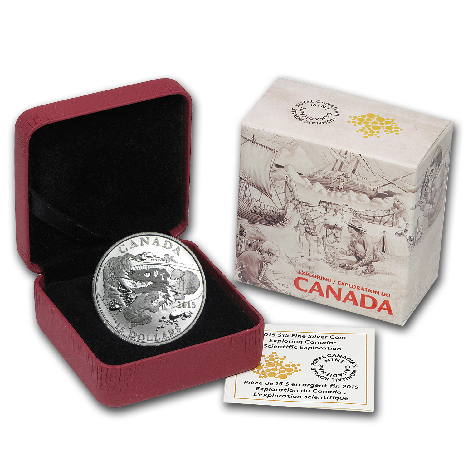 2015 Canada Silver Exploring Canada The Scientific Exploration