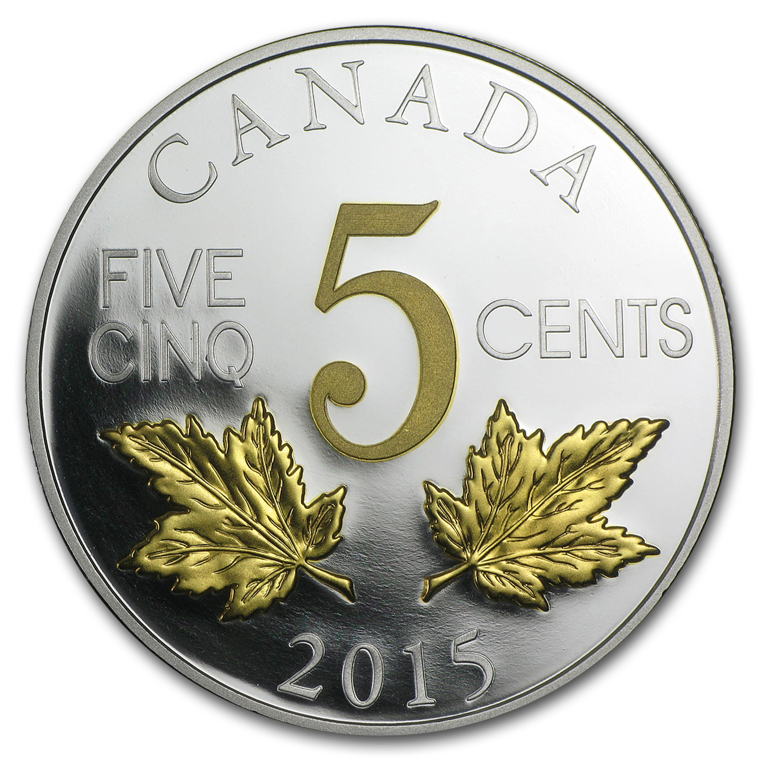 2015 Canada Silver Legacy of the Canadian Nickel (The Two Maples)