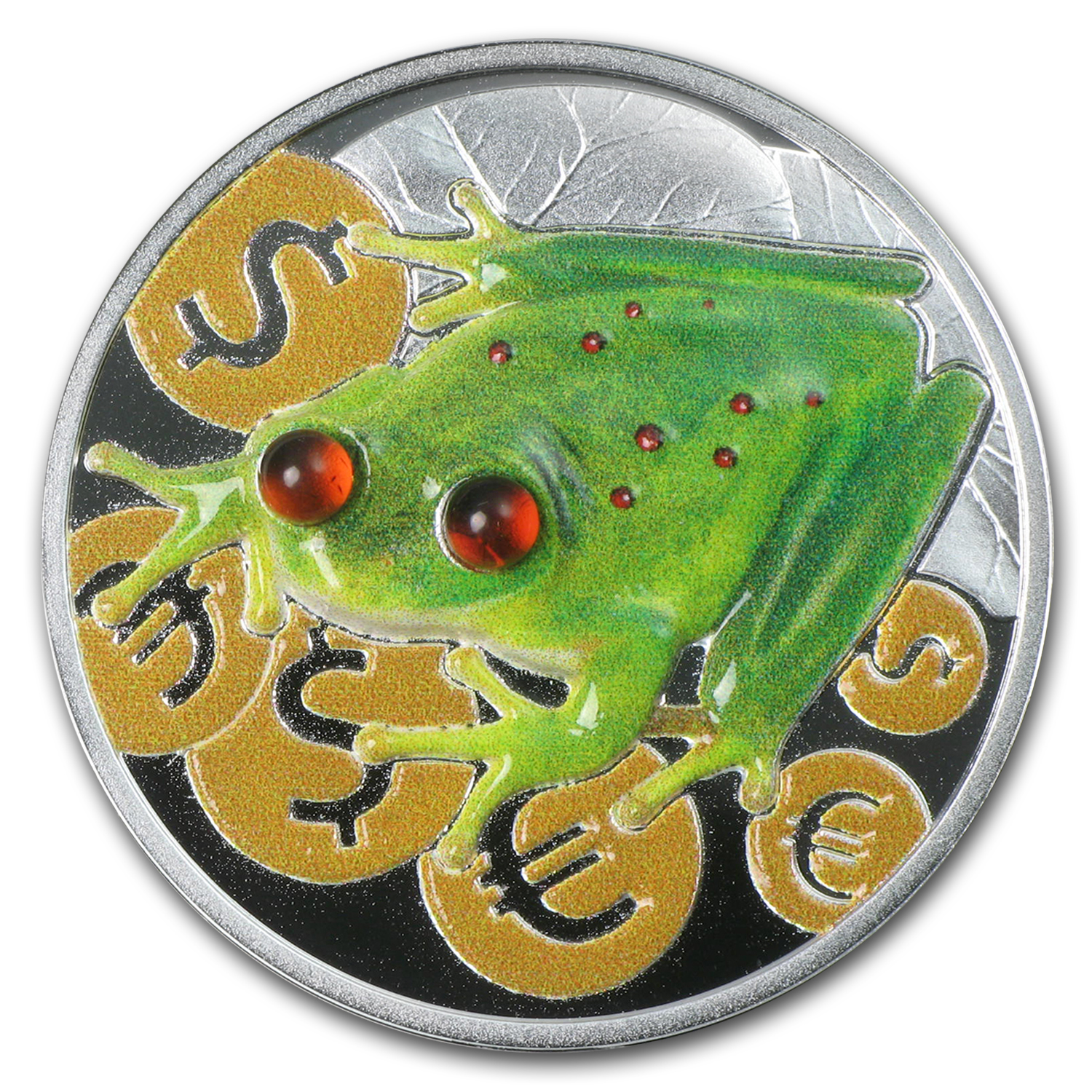 2015 Niue 1 oz Silver Money Frog Proof