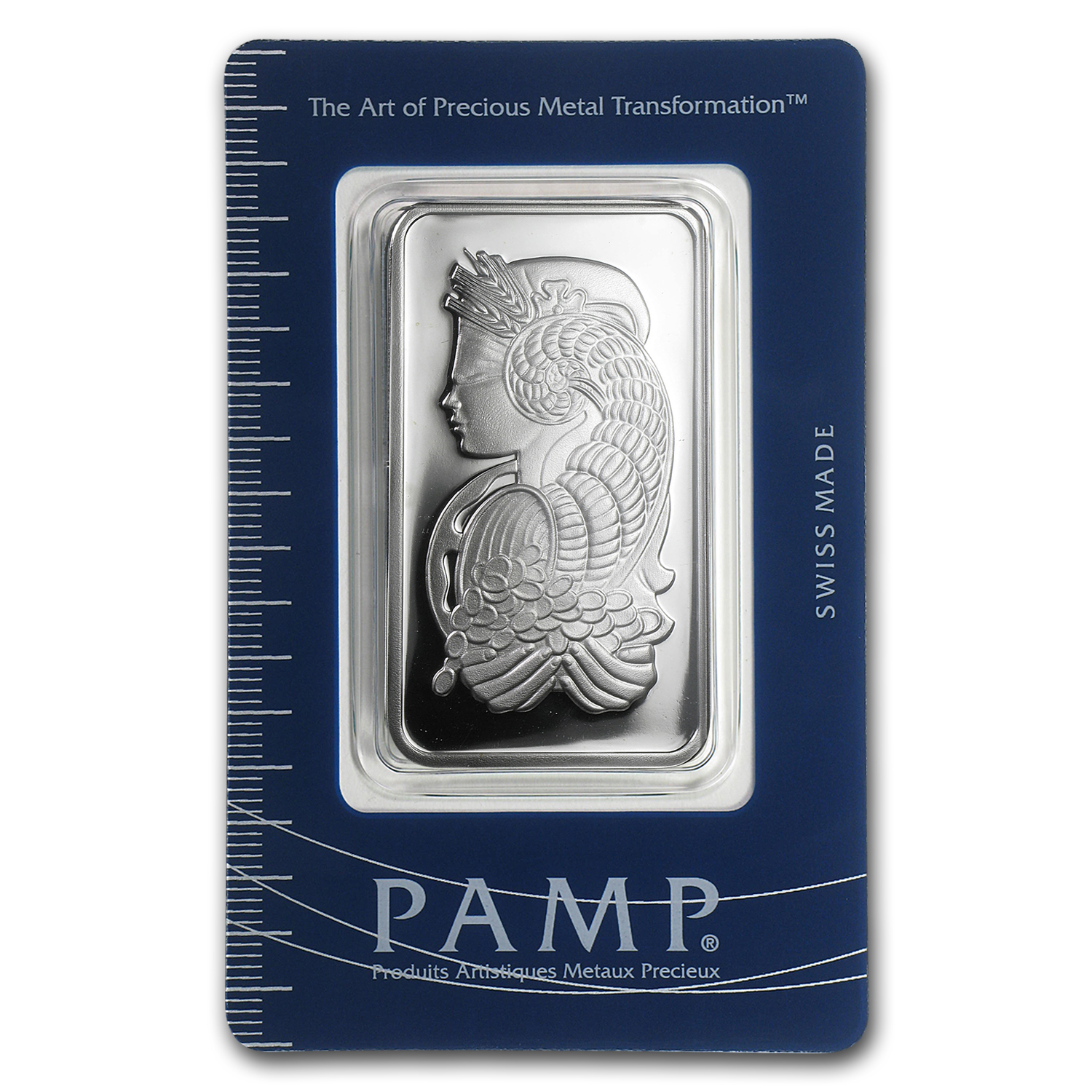 1 Oz Silver Bar Pamp Suisse Fortuna Secondary Market