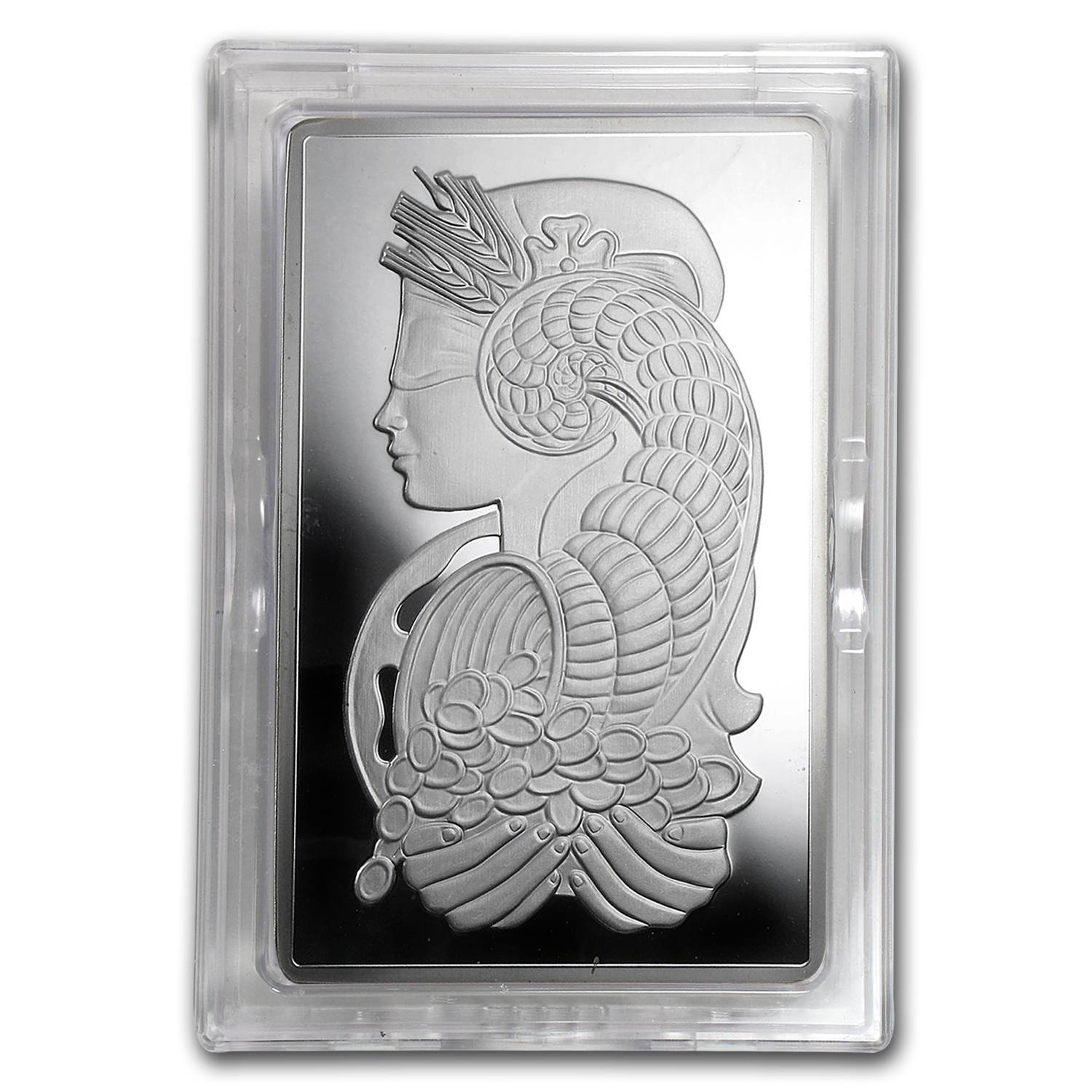 5 Oz Silver Bar Pamp Suisse Fortuna Secondary Market