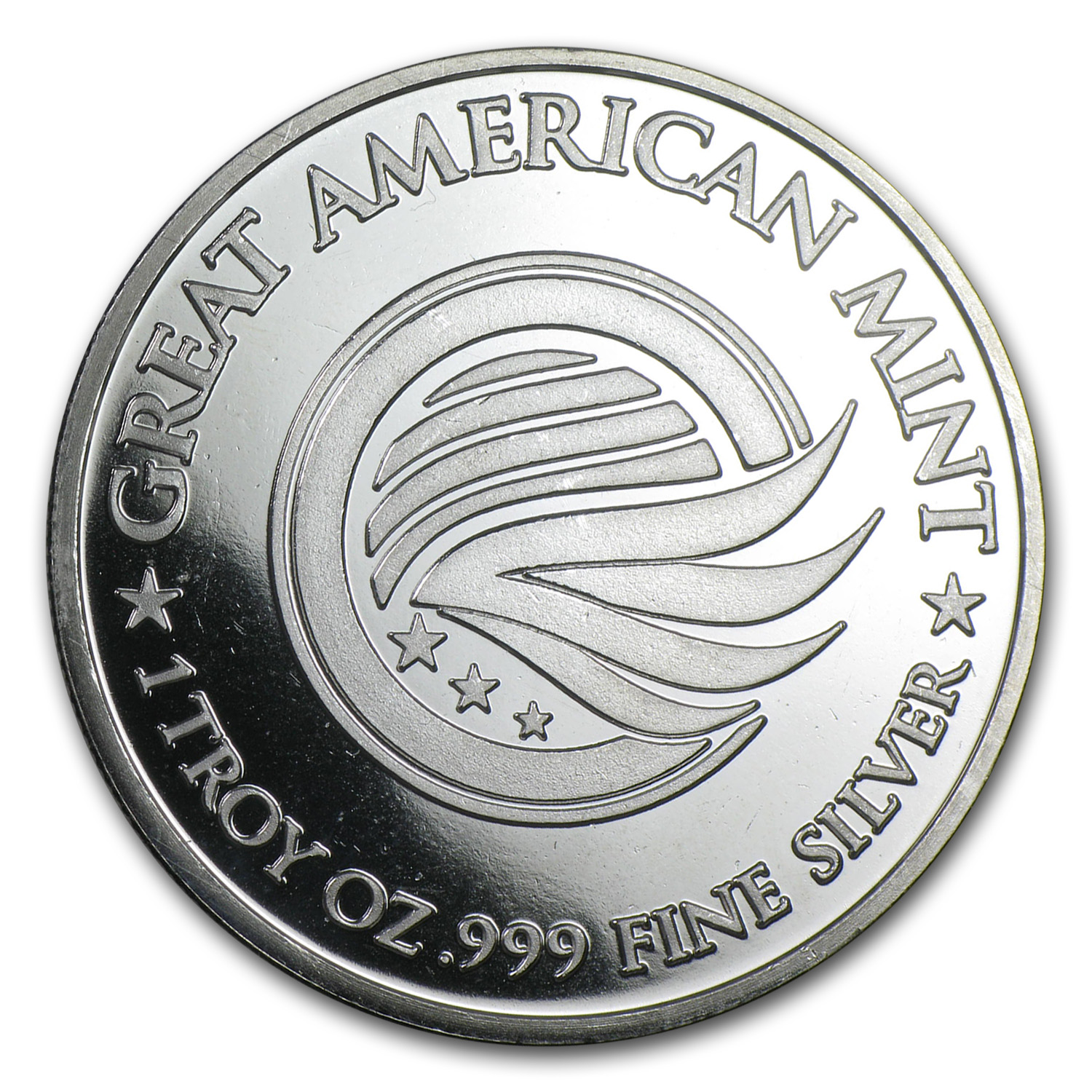 1 oz Silver Round - Great American Mint (GAM)