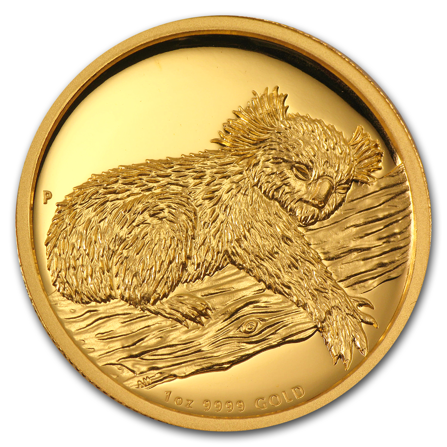 2012 Australia 1 oz Gold Koala Proof (High Relief, Box & COA)