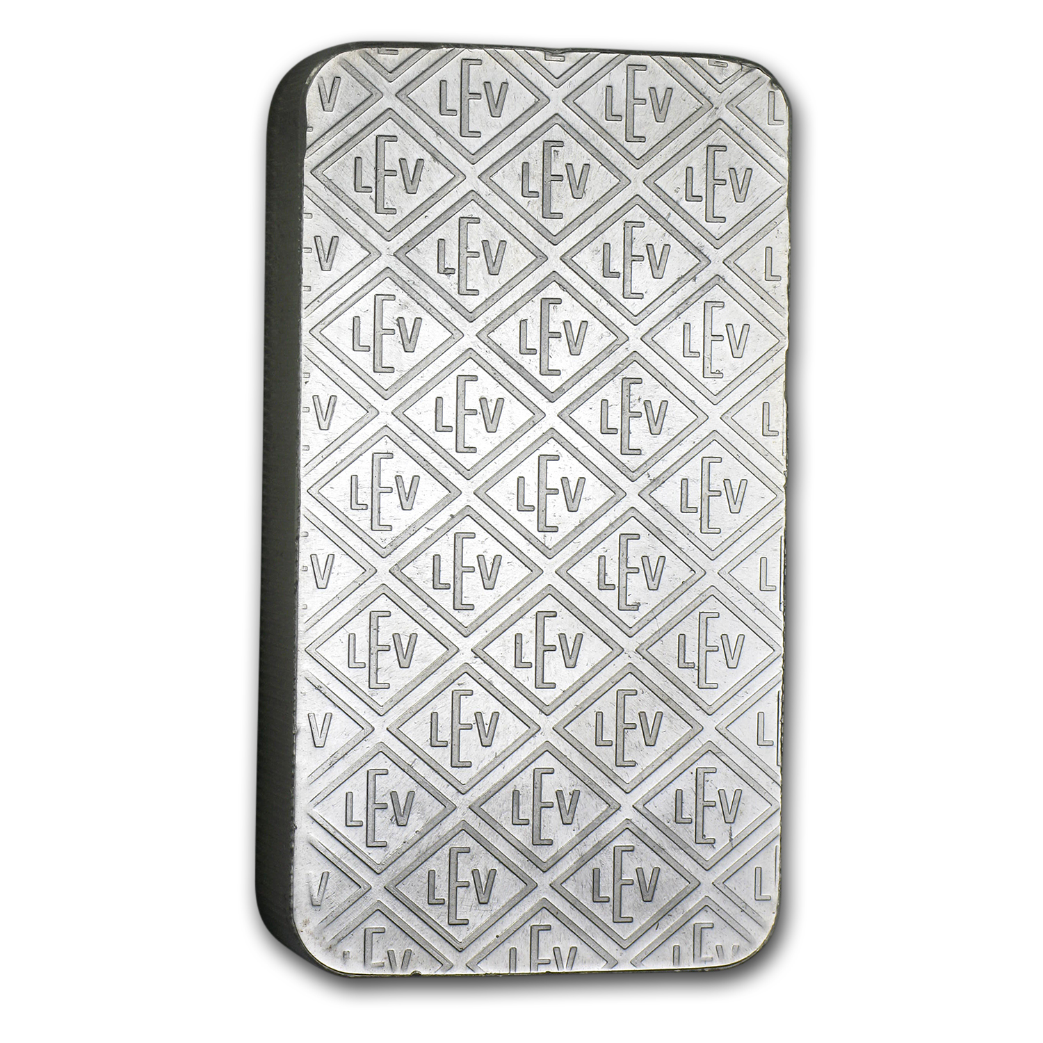 10 oz Silver Bar - Geiger (Security Line Series, Scruffy)