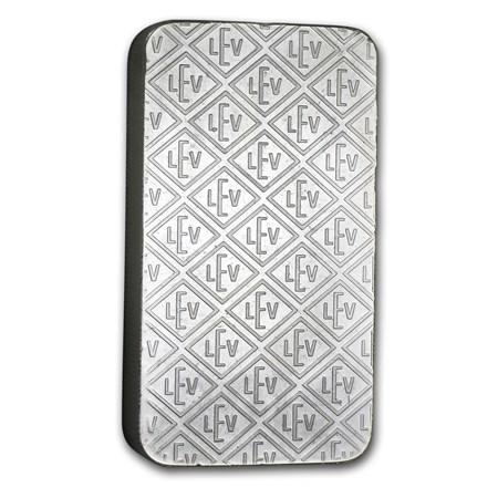 10 Oz Silver Bar Geiger Security Line Series Scruffy