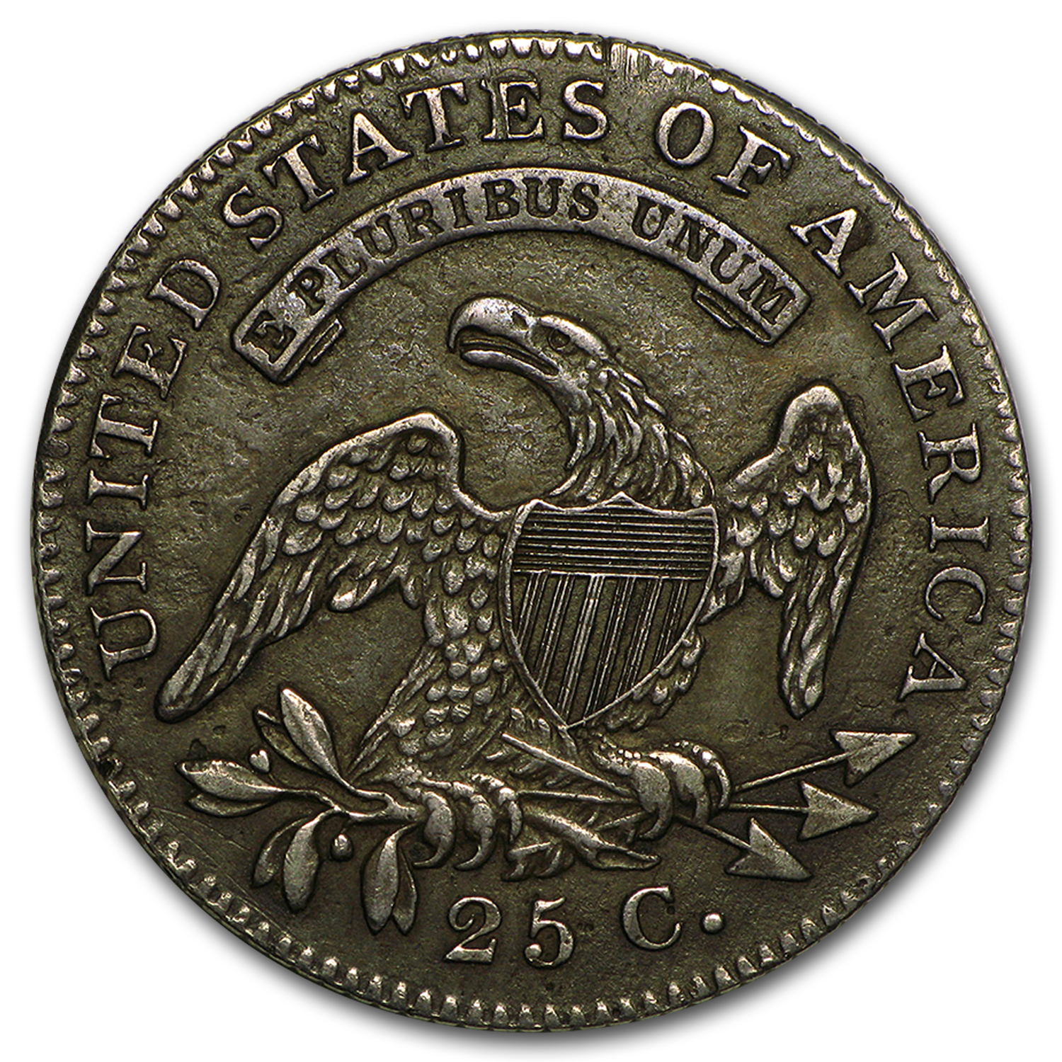 1820 Capped Bust Quarter XF