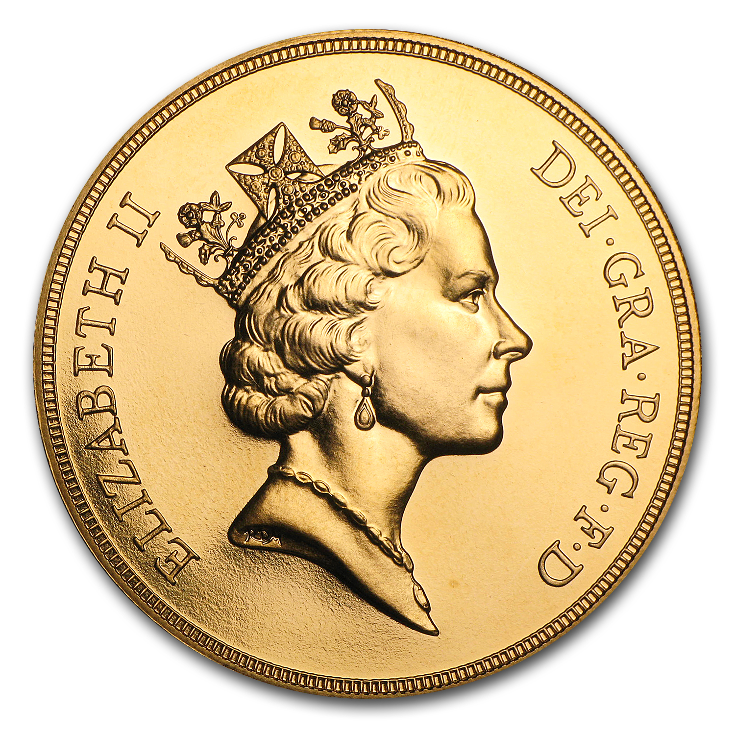 Great Britain Gold £5 BU/Proof