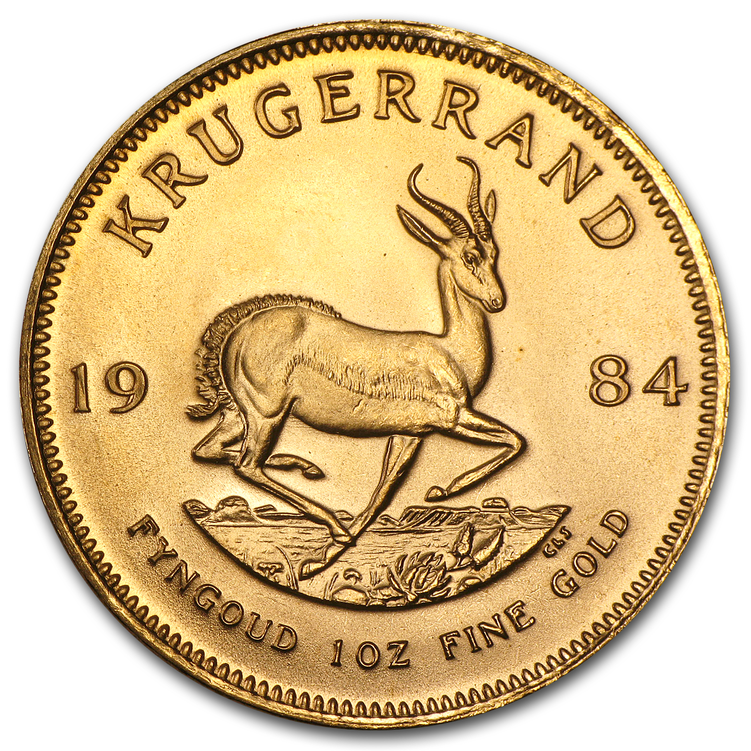 1984 South Africa 1 oz Gold Krugerrand BU