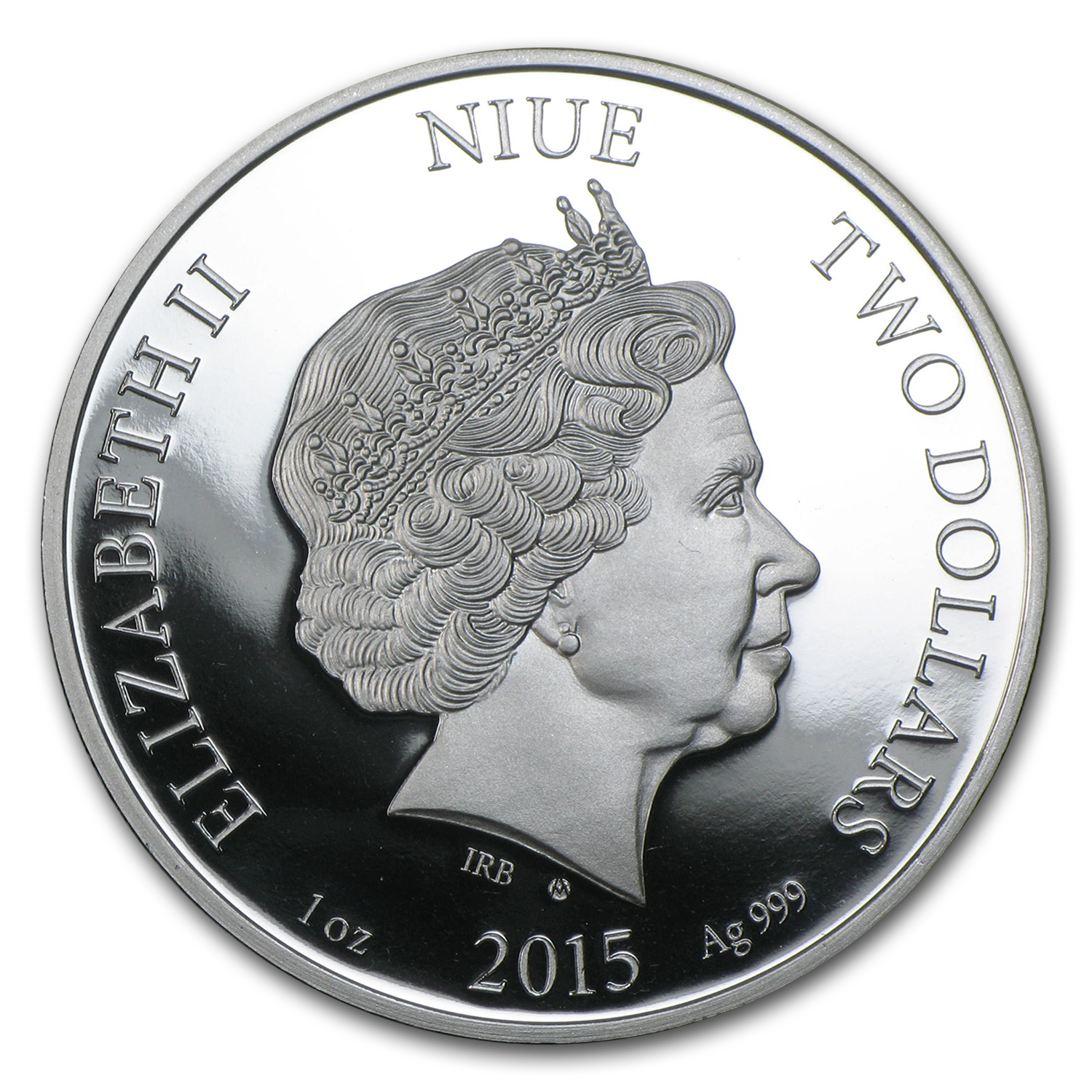 2015 Niue Silver First Chromadepth 3D Coin