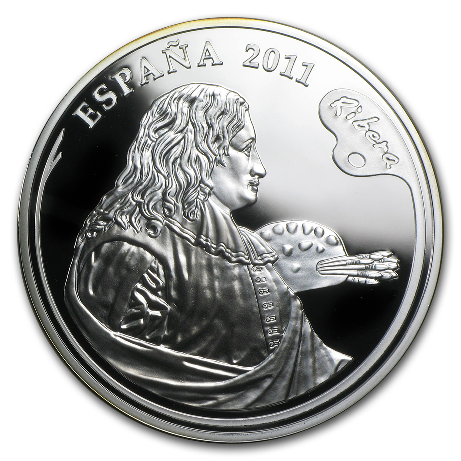 2011 Proof Silver €10 Ribera Painters IV