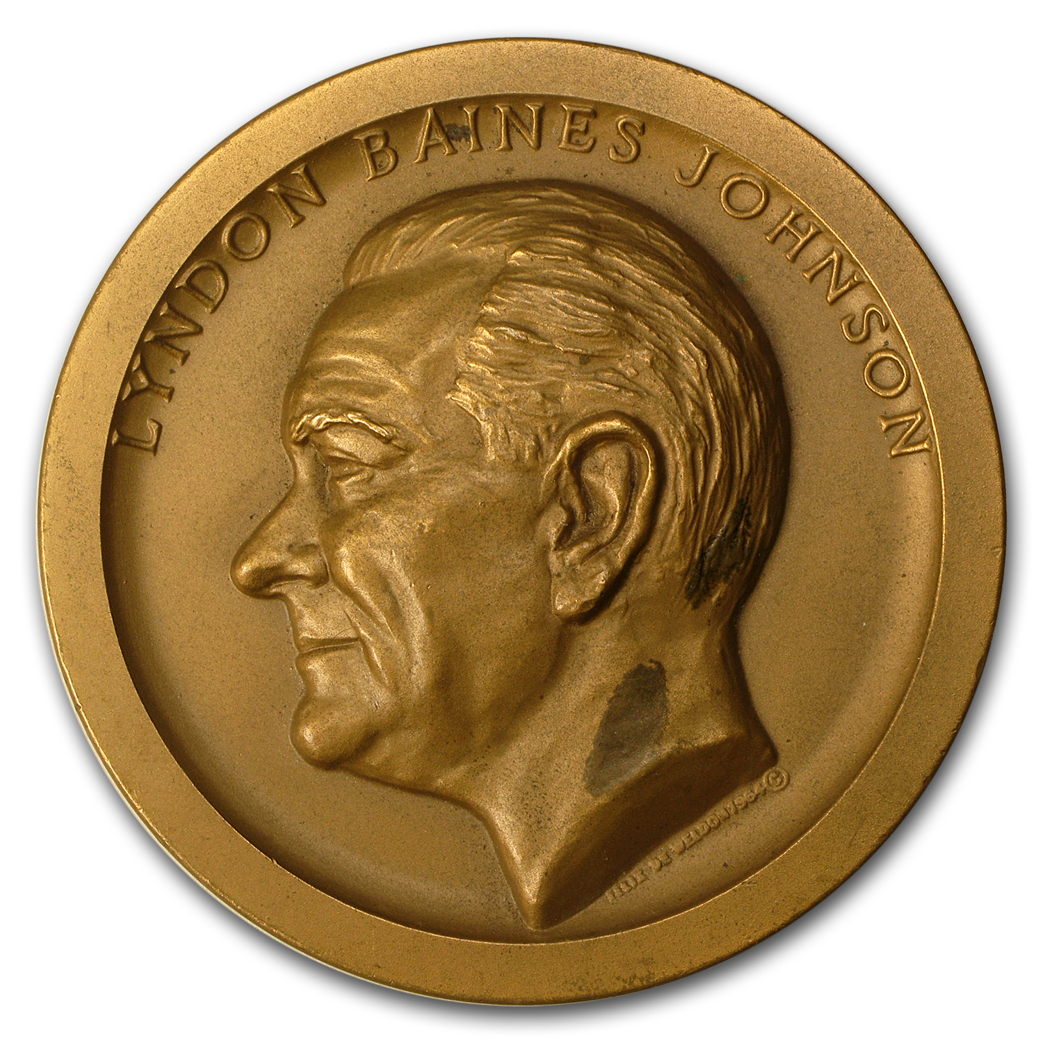 1965 Lyndon B. Johnson Presidential Inaugural Medal