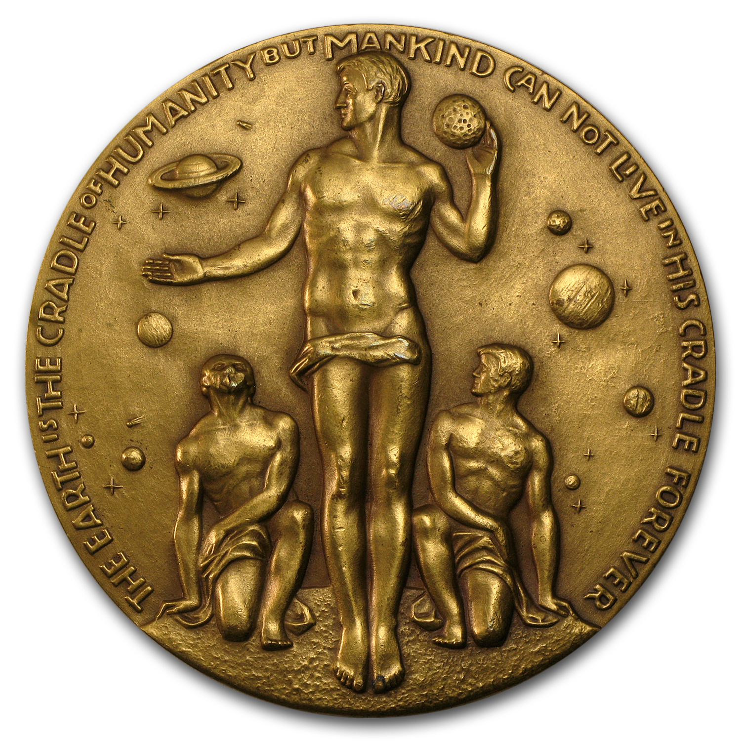 "Bronze Medal Apollo 17 (2 1/2"" Dia.)"