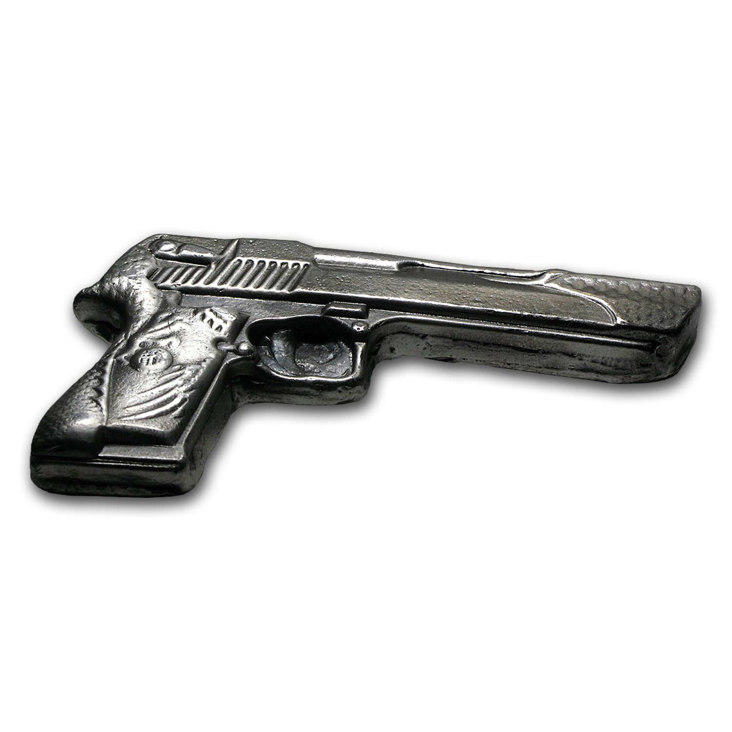5 oz Silver Desert Eagle Gun - Bison Bullion