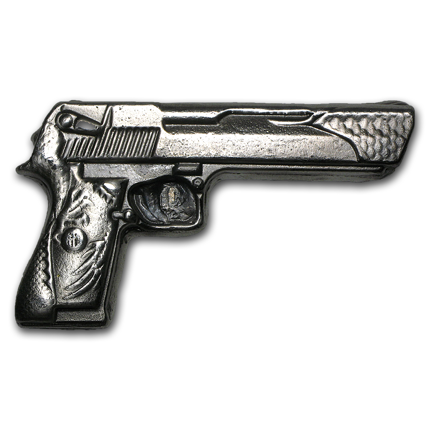5 oz Silver Bar - Desert Eagle Gun