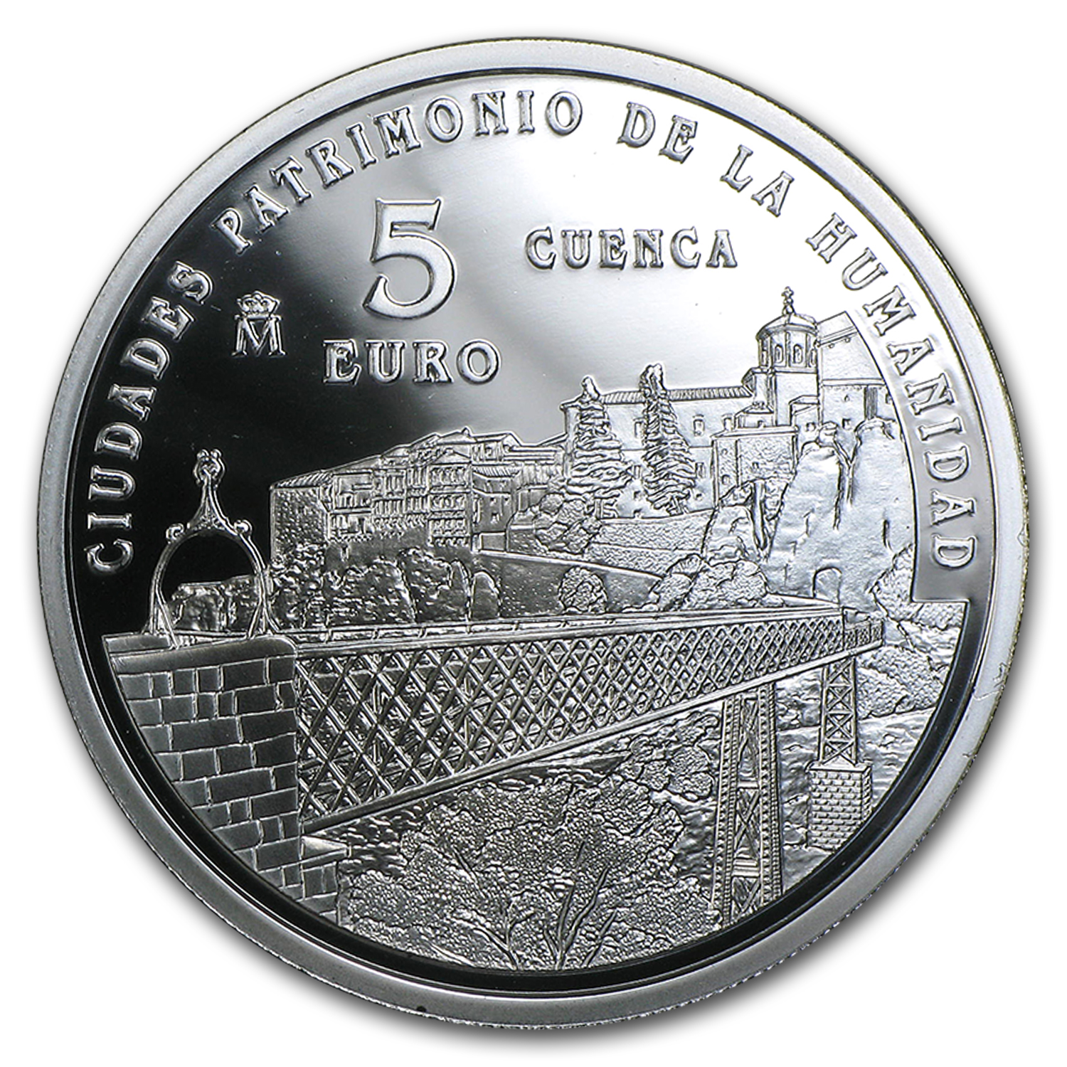 2015 Proof Silver €5 UNESCO Cuenca