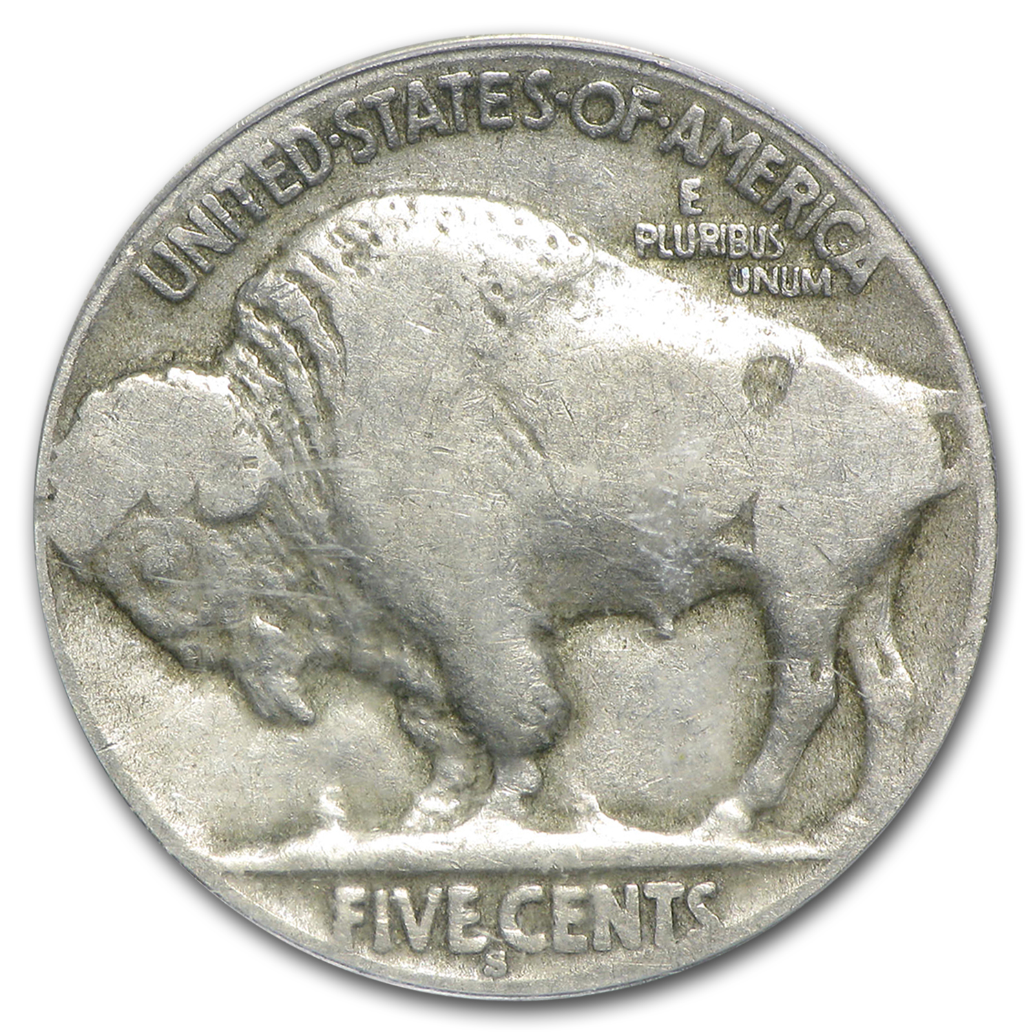 1913-S Buffalo Nickel Type-II Good-4 PCGS