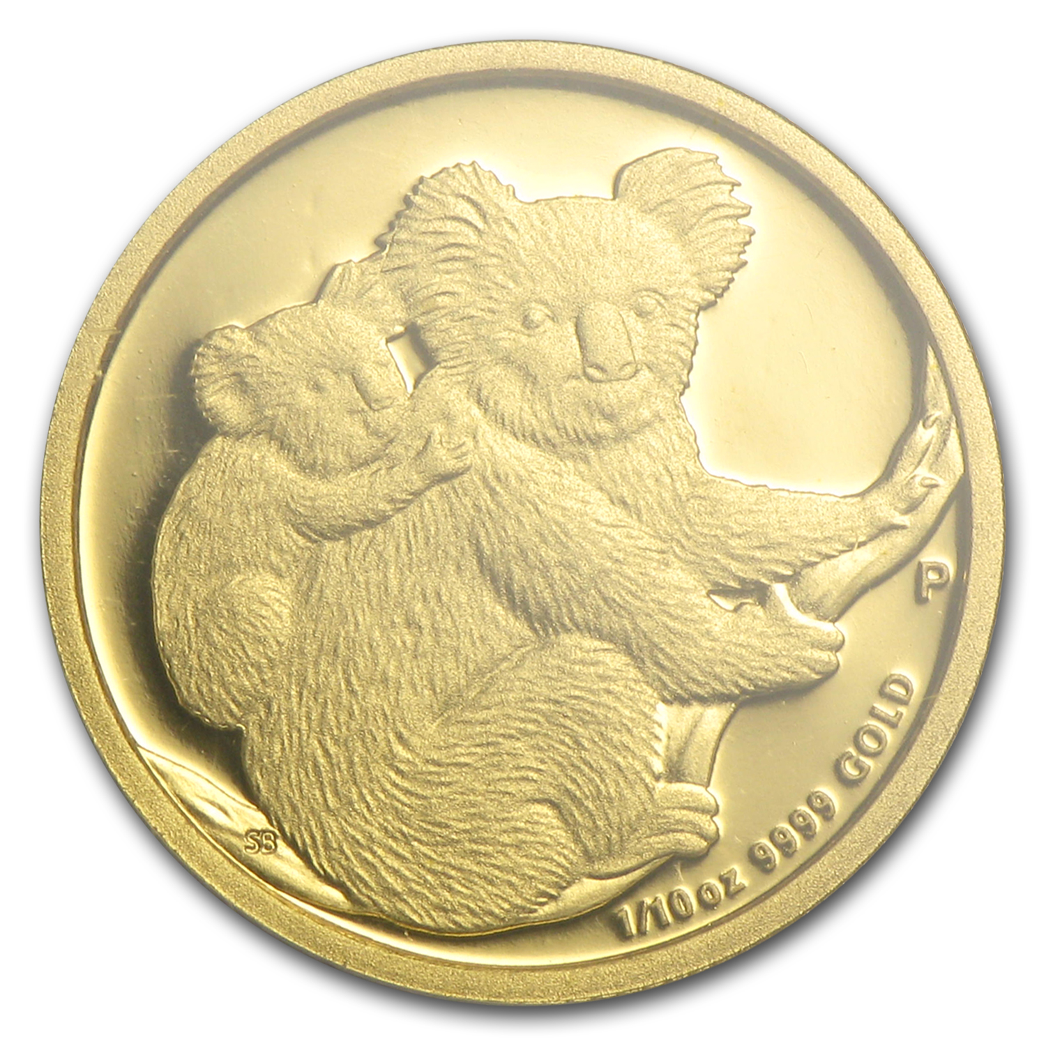 2008-P Australia 1/10 oz Gold Koala Gem Proof PCGS (First Strike)