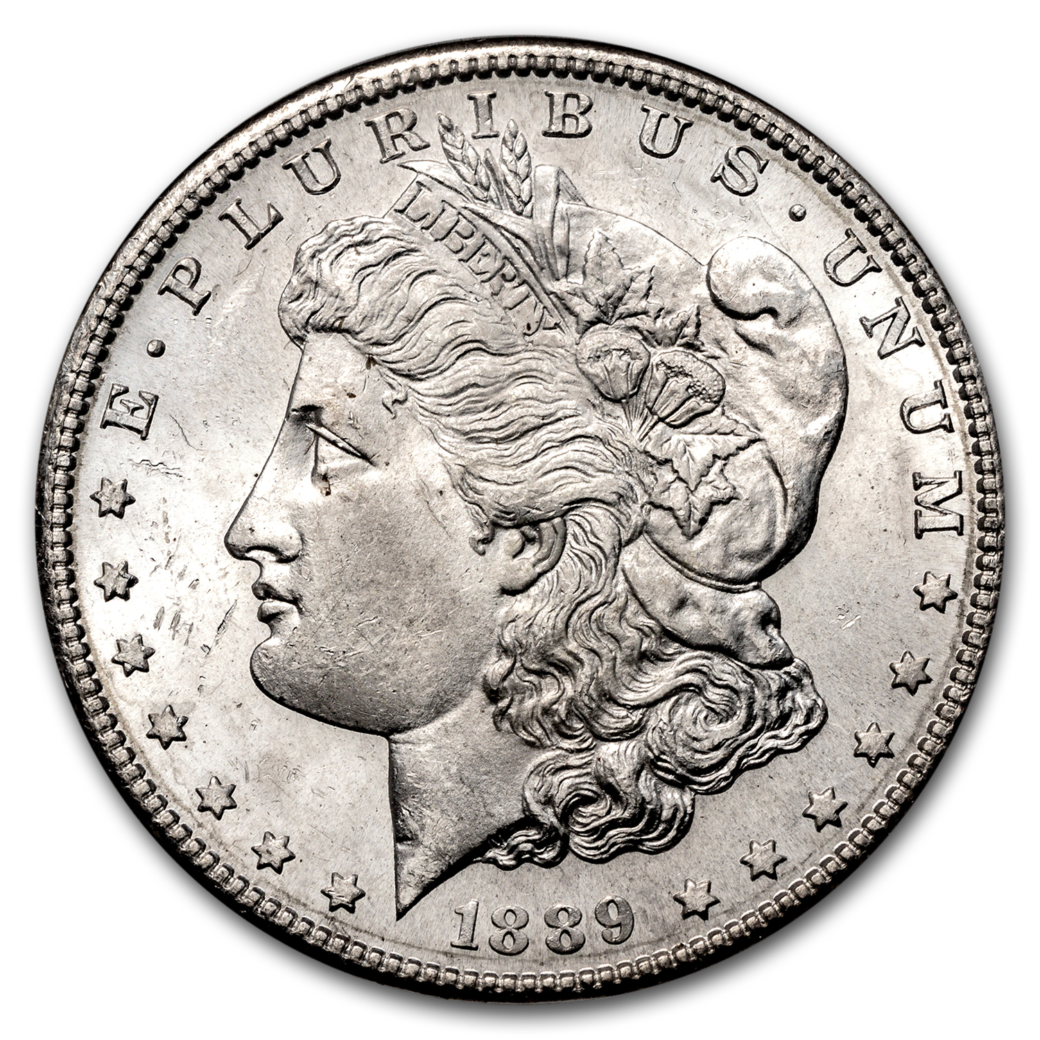 1889-S Morgan Dollar MS-64 NGC