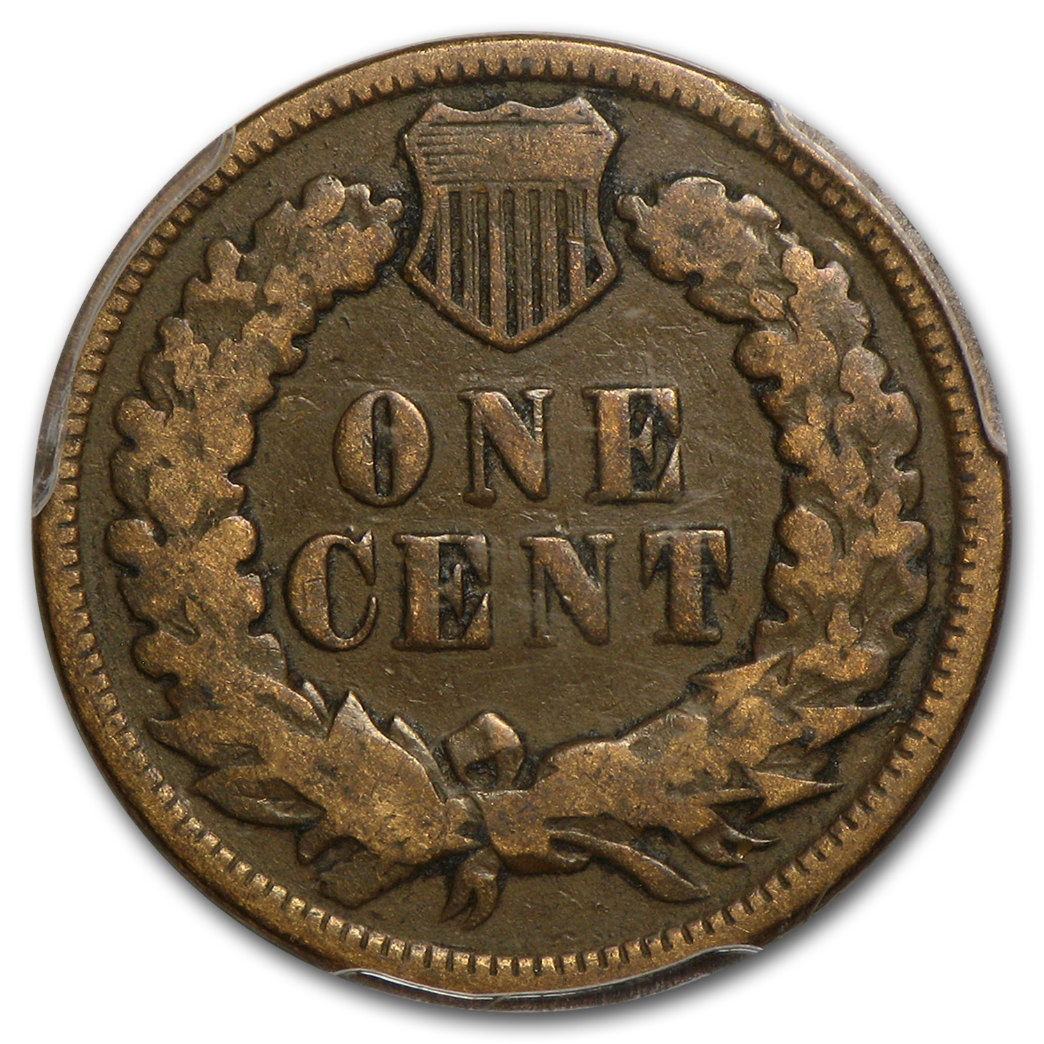 1872 Indian Head Cent VG-8 PCGS (Brown)